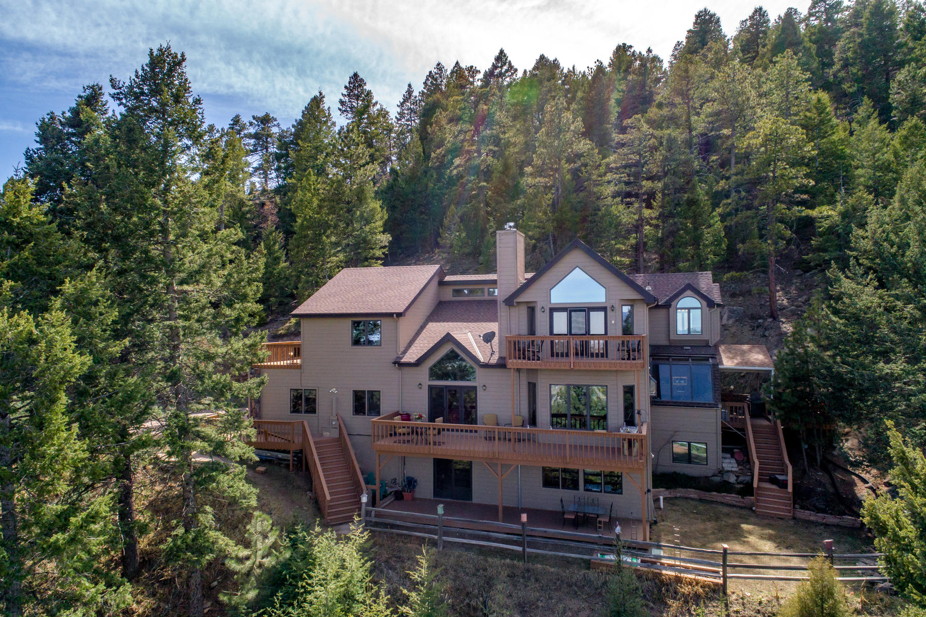 Single Family Home for Active at Epitome of the Colorado Lifestyle 4600 Olympic Way Evergreen, Colorado 80439 United States