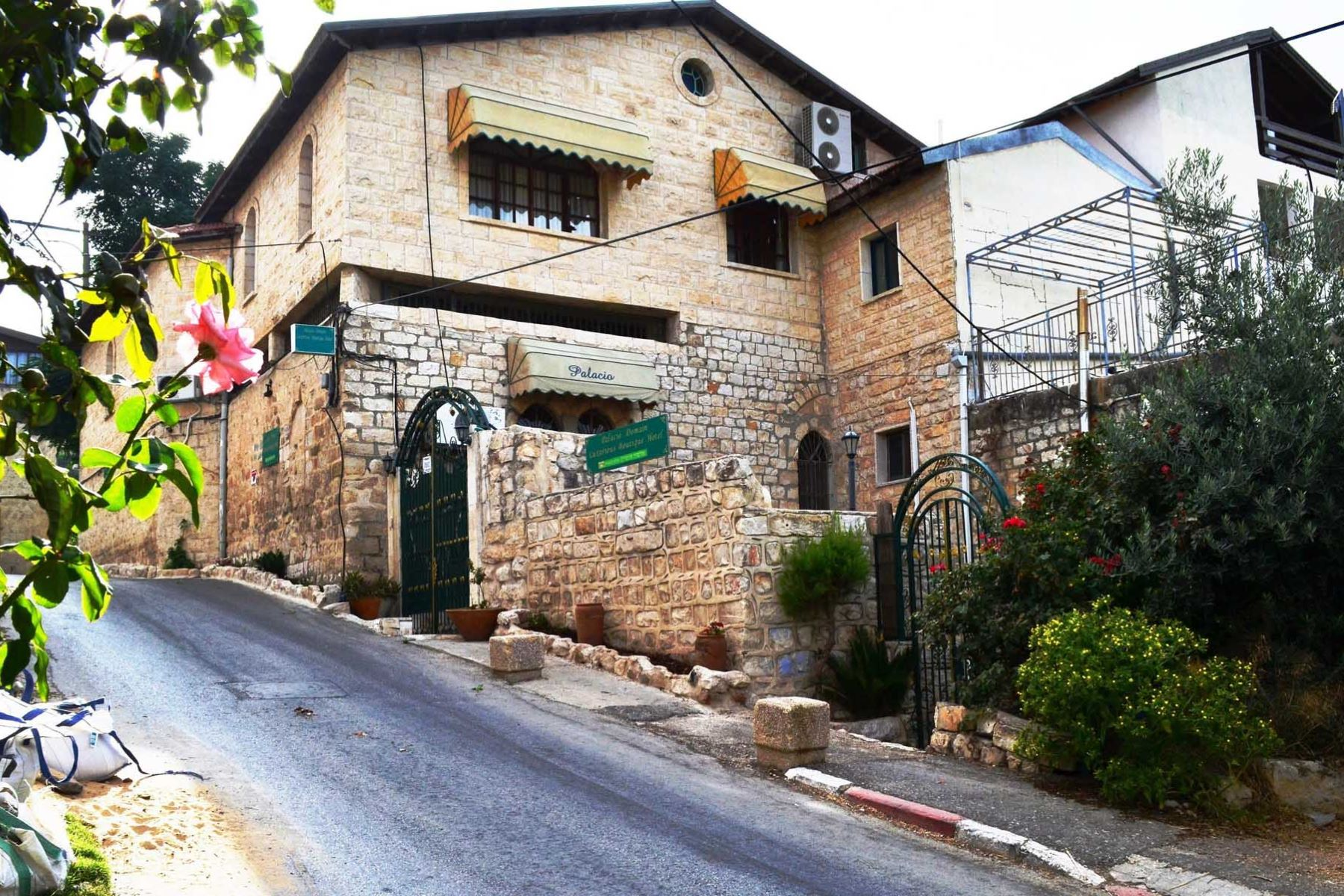 Bed and Breakfast for Sale at Unique Grand Property in Safed Israel