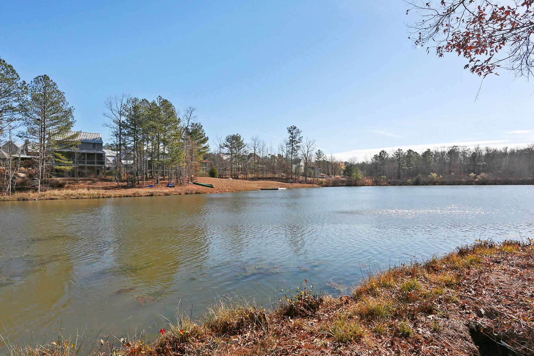 Land for Active at Beautiful Lake View Lot in Serenbe 10756 Serenbe Lane Chattahoochee Hills, Georgia 30268 United States