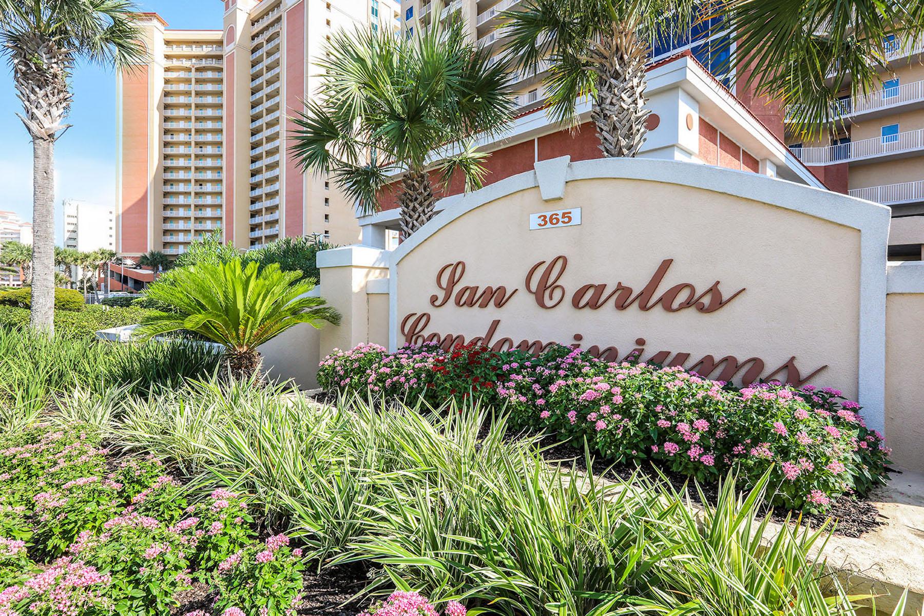 Single Family Homes 为 销售 在 San Carlos 365 E Beach Blvd Unit # 705 Gulf Shores, 阿拉巴马州 36542 美国