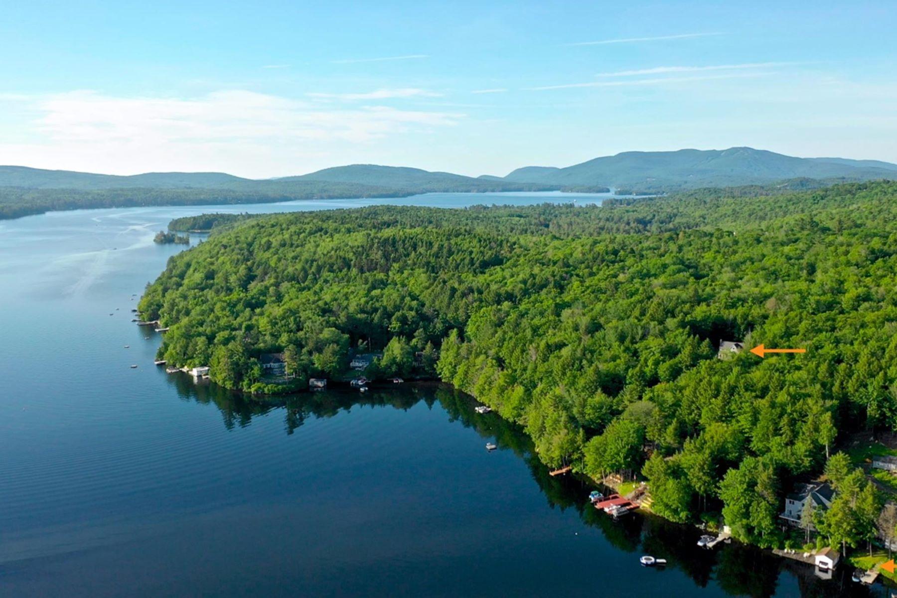 Single Family Homes для того Продажа на Lake Sunapee Access 747 Jobs Creek Rd, Sunapee, Нью-Гэмпшир 03782 Соединенные Штаты