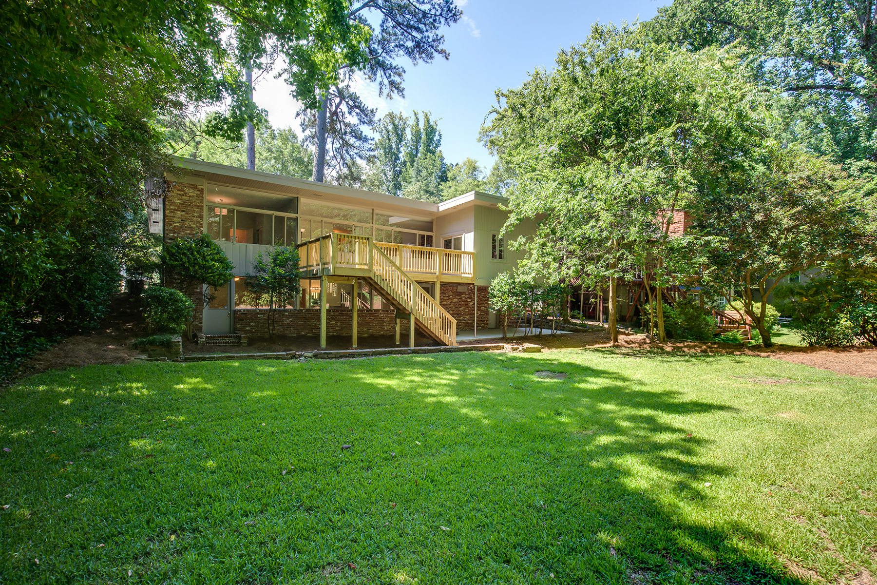 Single Family Home for Sale at Authentic Mid-Century Modern With Quiet, Private Setting in the Heart of Druid H 1364 Springdale Rd Atlanta, Georgia 30306 United States