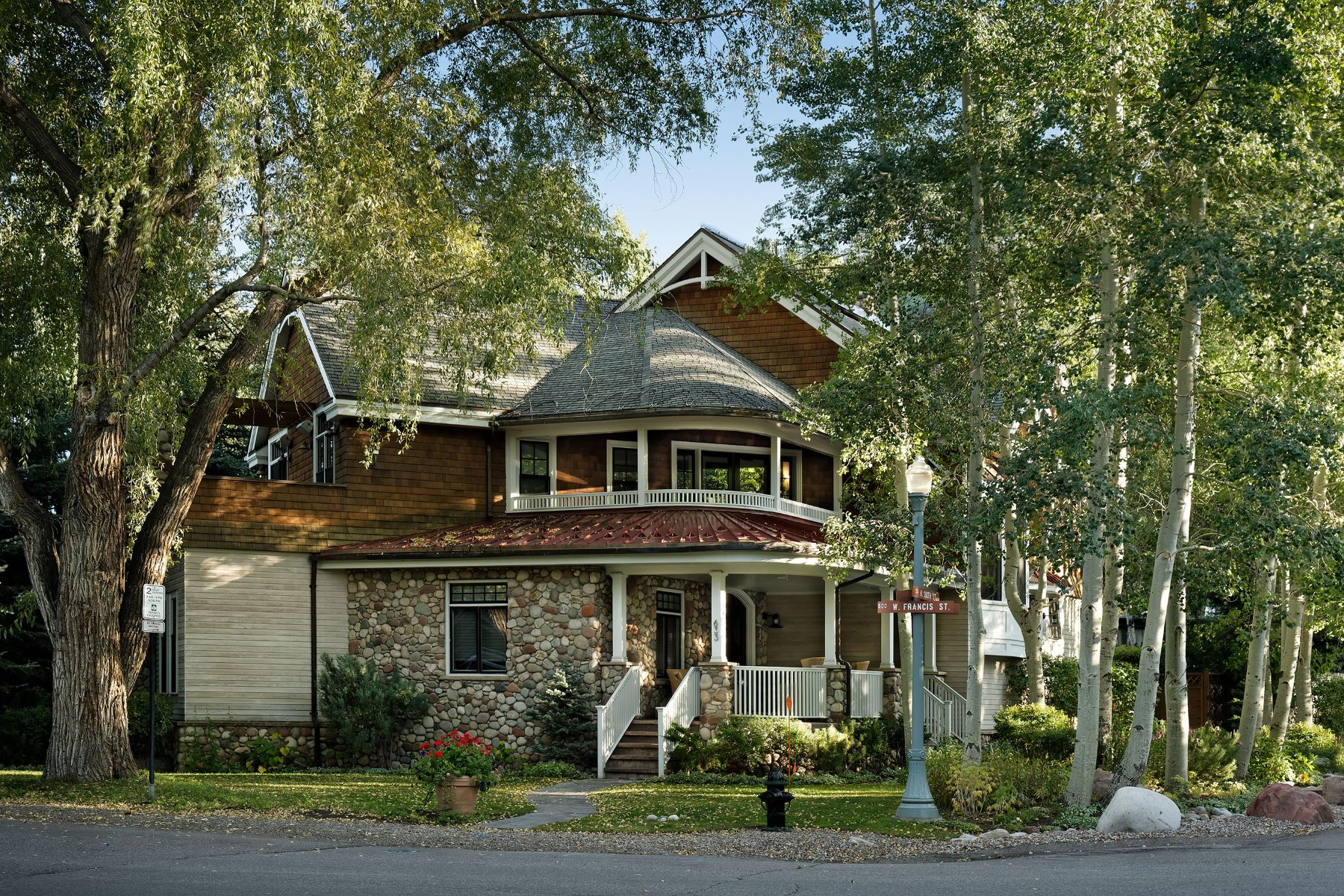 Single Family Home for Sale at Traditional meets contemporary 633 W Francis Street, West End, Aspen, Colorado, 81611 United States