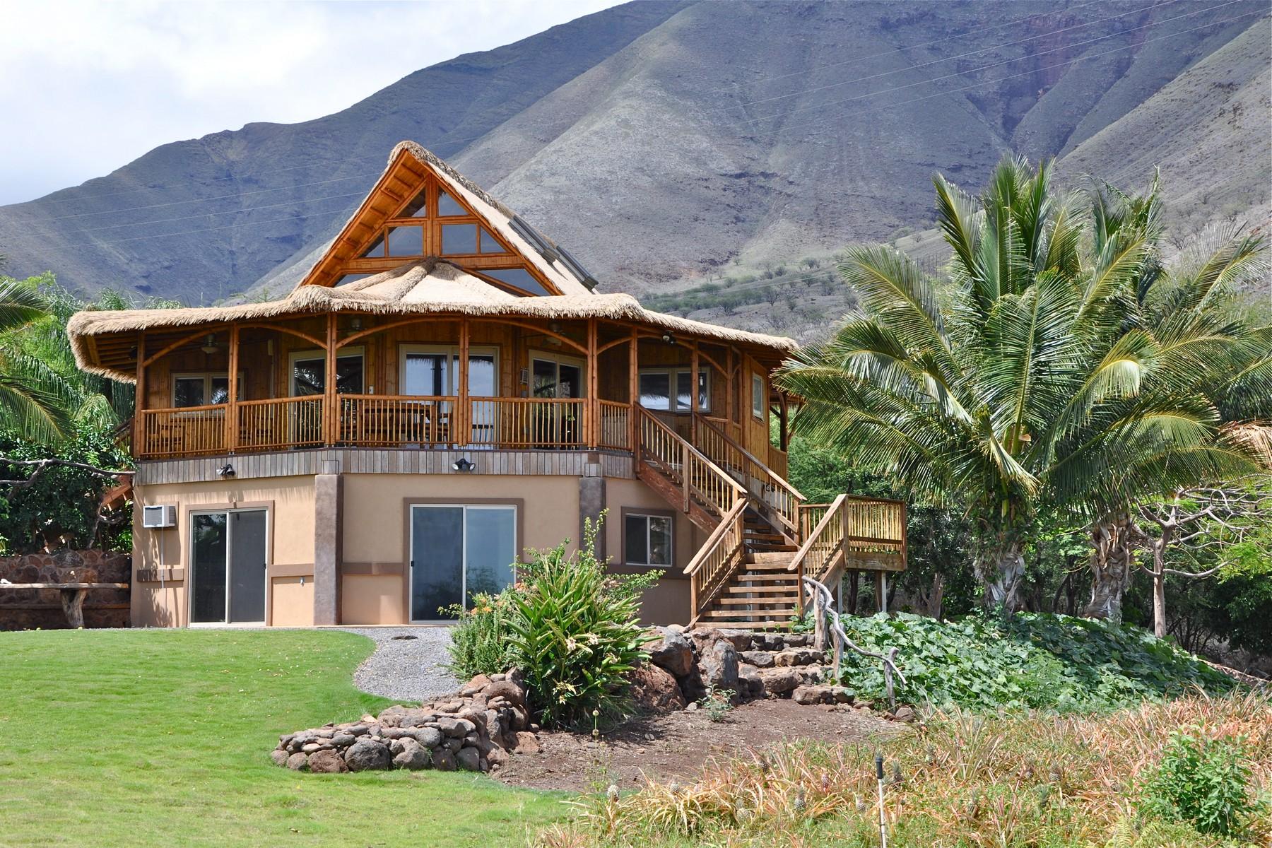 Single Family Homes for Sale at Island Style Living 849 Paekii Pl Lahaina, Hawaii 96761 United States