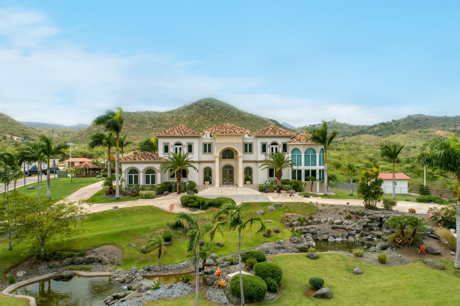 Ферма / ранчо / плантация для того Продажа на Sustainable Tuscan Masterpiece Country Estate 117 St Km 11.7 Sabana Grande, Puerto Rico 00637 Пуэрто-Рико