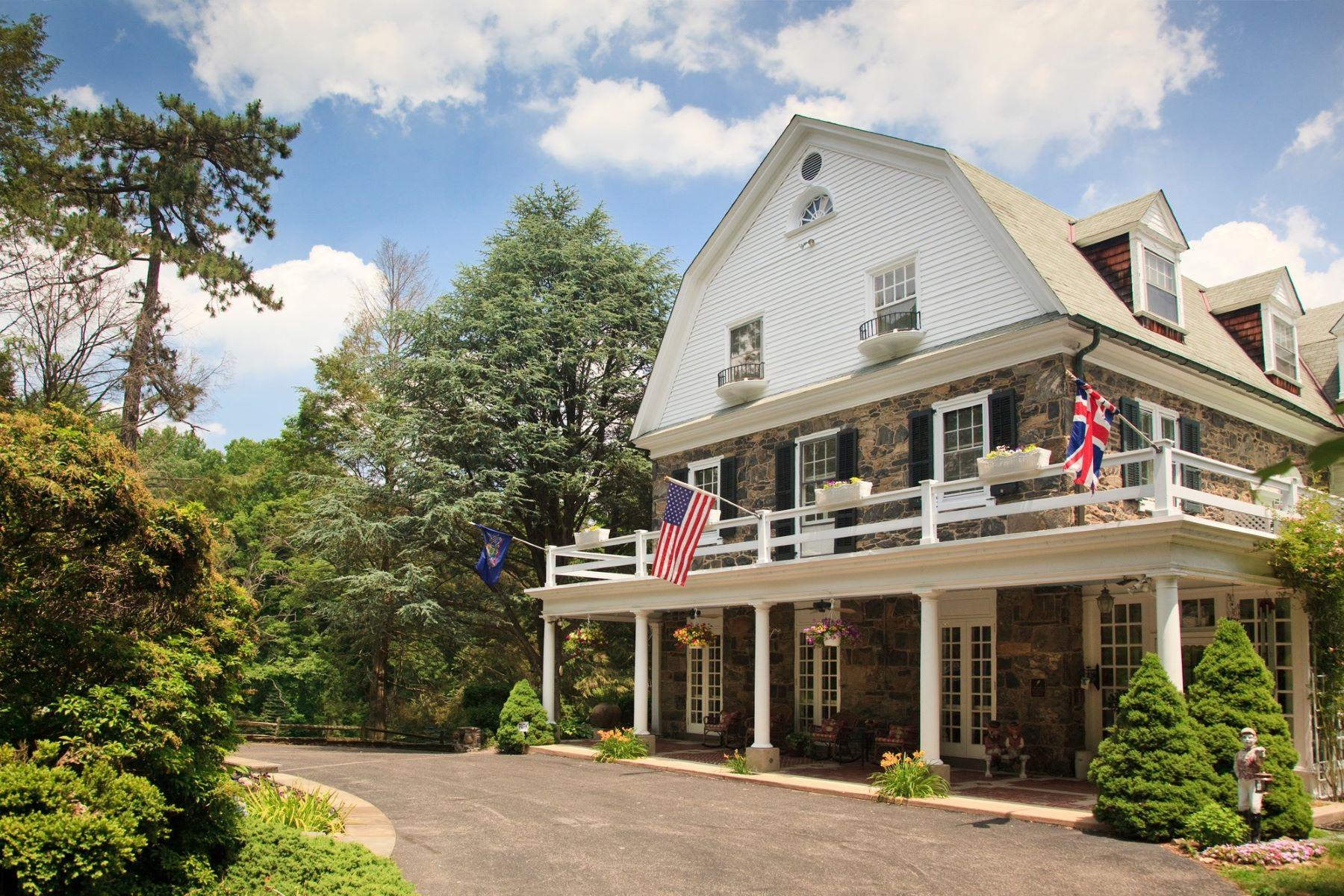 Single Family Homes для того Продажа на Hamannasset 725 Darlington Road, Media, Пенсильвания 19063 Соединенные Штаты