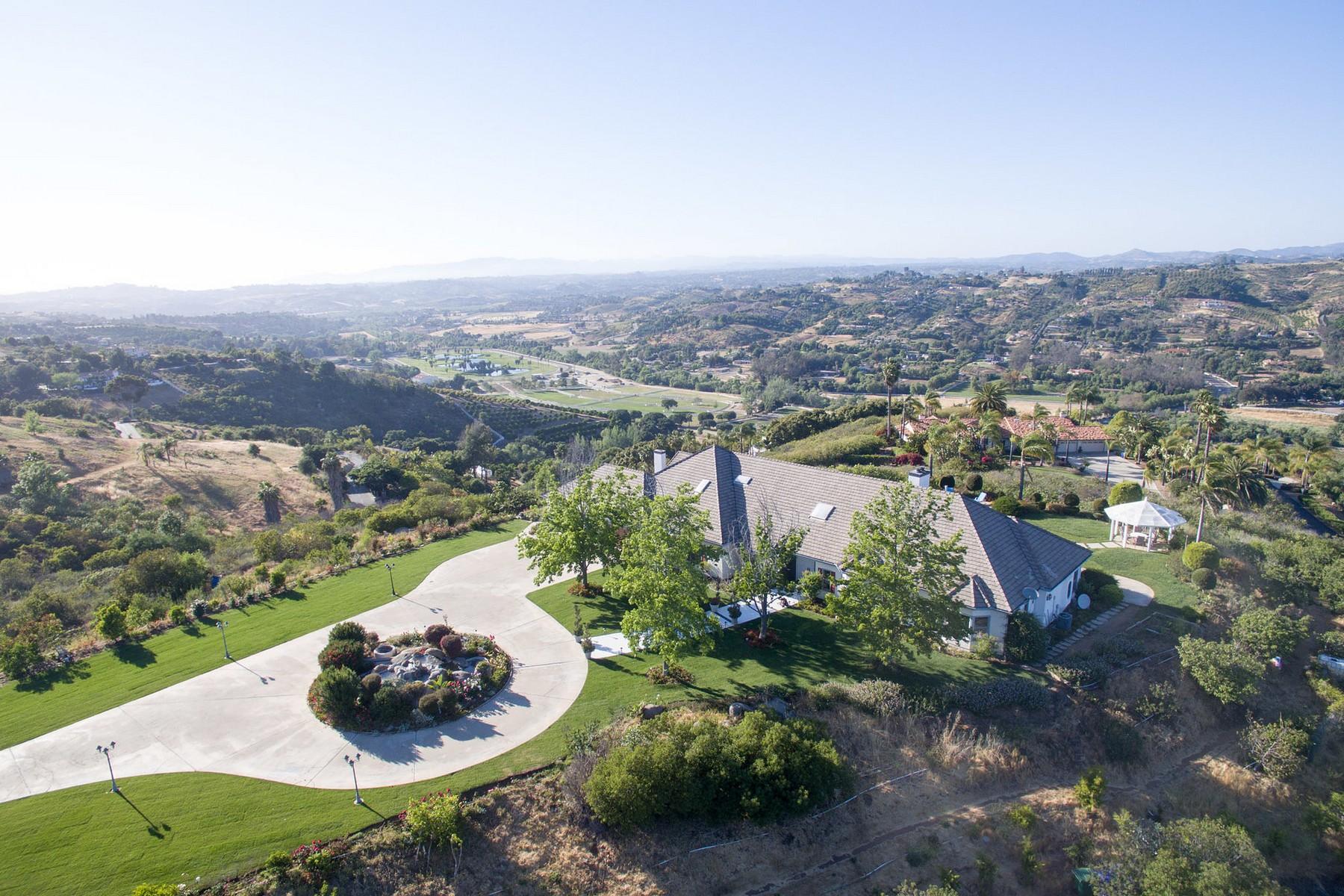 Maison unifamiliale pour l Vente à 30417 Via Maria Elena Bonsall, Californie, 92003 États-Unis