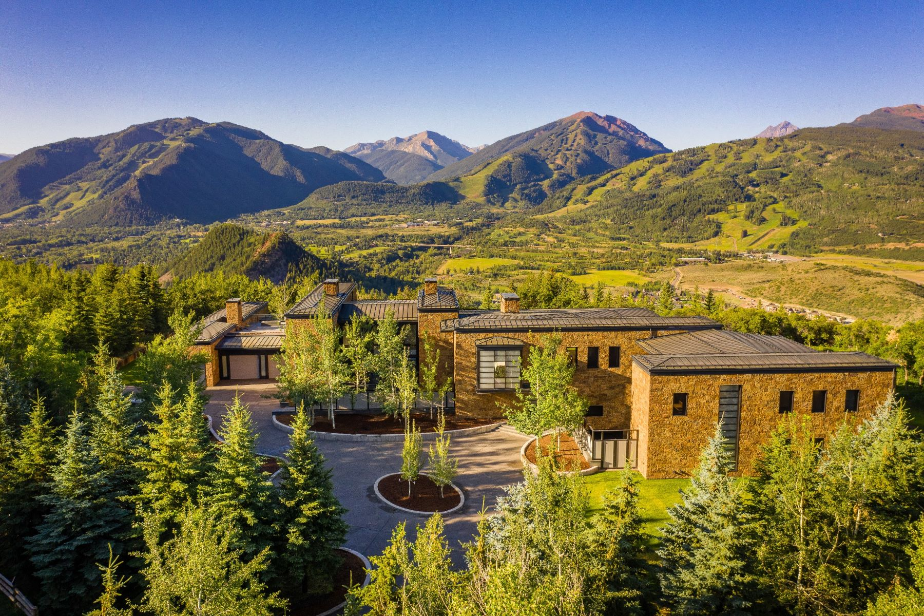 Single Family Homes for Sale at Starwood Estate 1000 S Starwood Drive, Aspen, Colorado 81611 United States