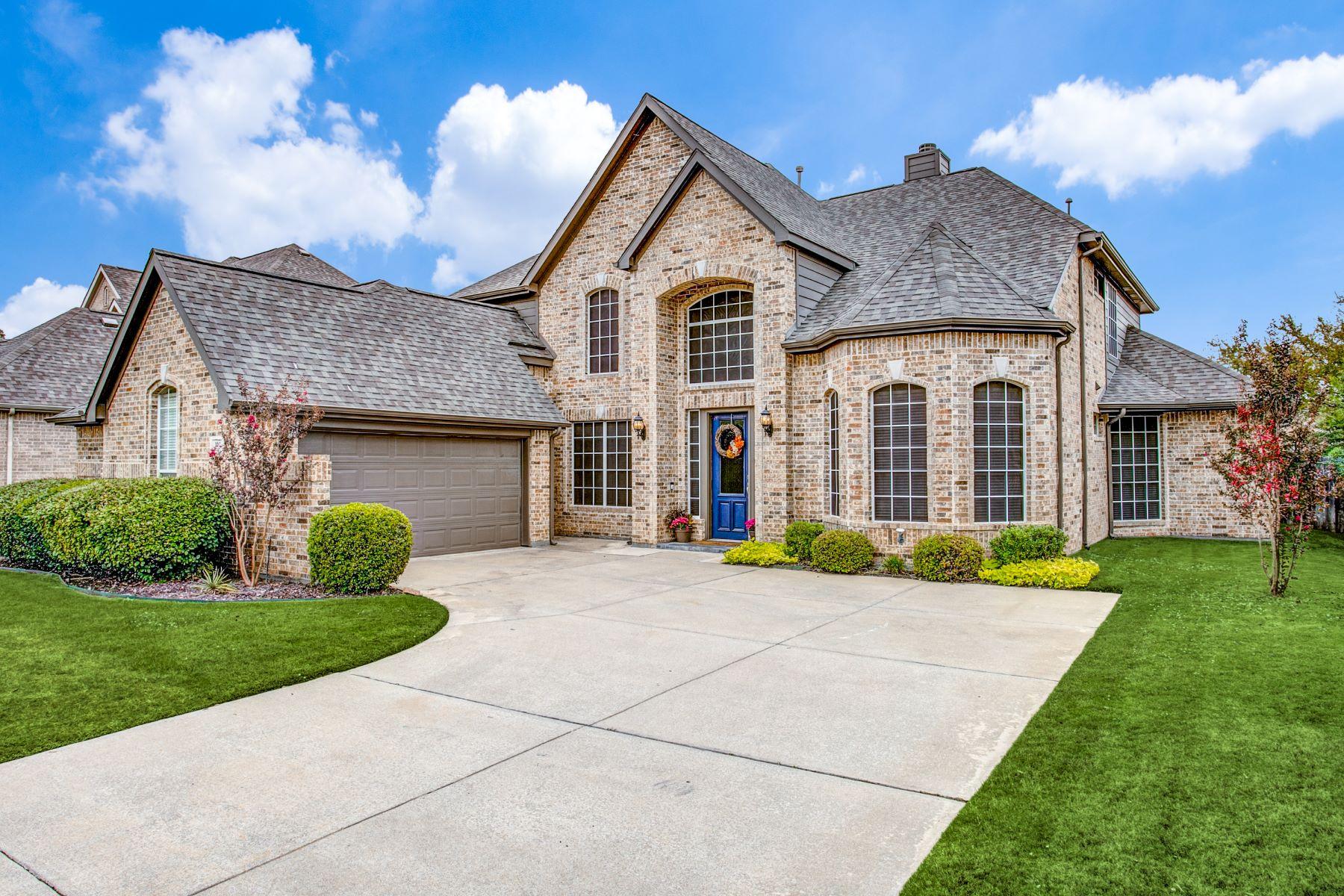 Single Family Homes for Sale at Gated Bear Creek Keller Community 707 Renaissance Court Keller, Texas 76248 United States