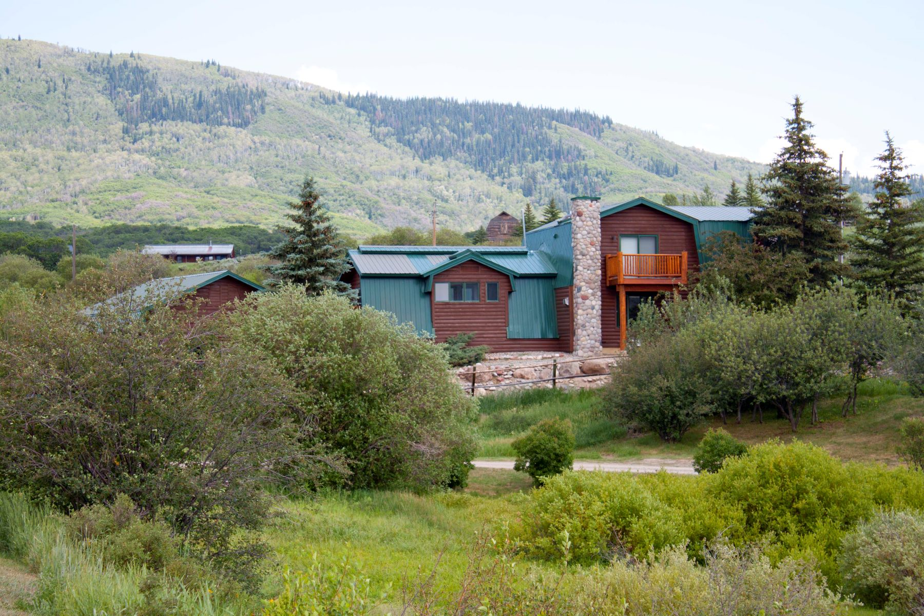 Single Family Home for Sale at Refined Country Living 29465 Scrub Oak Path Steamboat Springs, Colorado 80487 United States