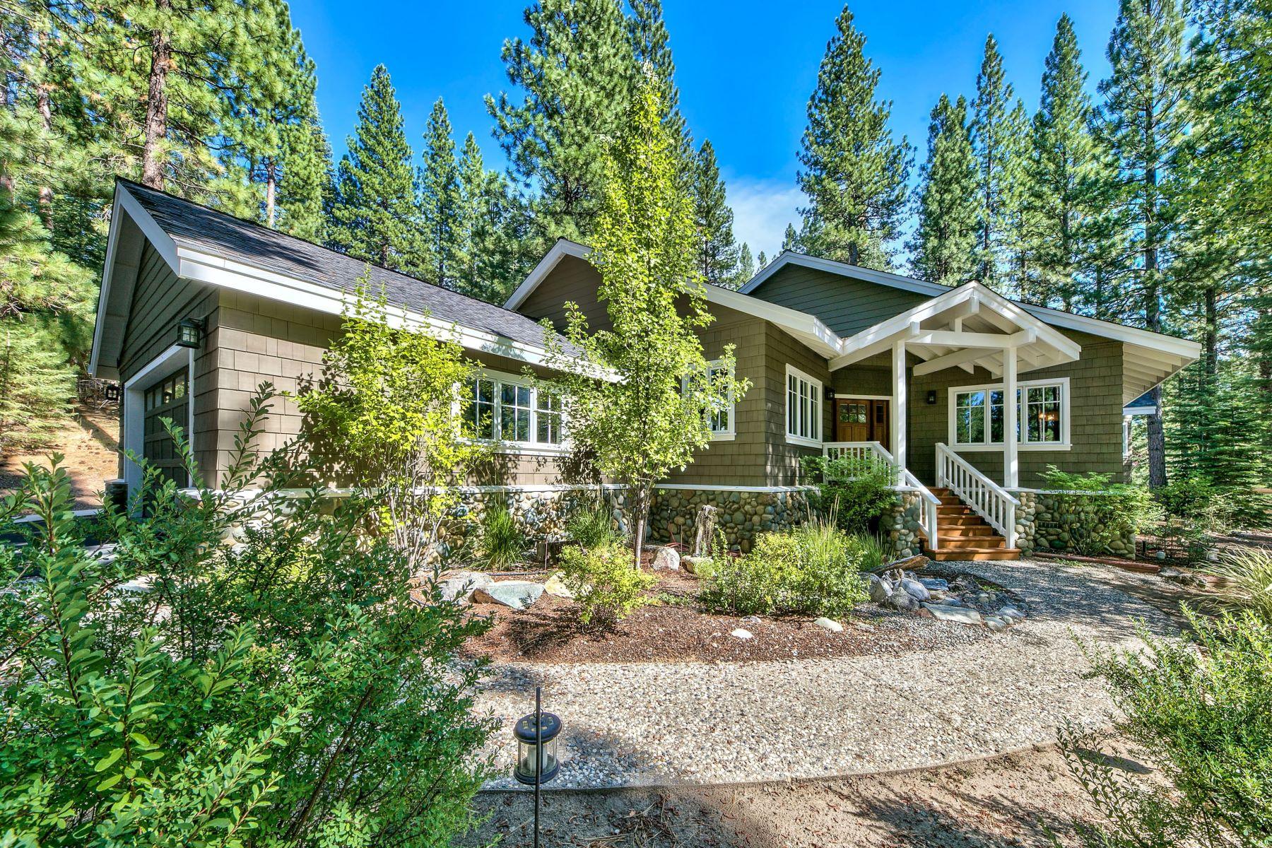 Single Family Homes 为 销售 在 Beautiful Whitehawk Ranch 332 Quail View Circle Clio, 加利福尼亚州 96106 美国