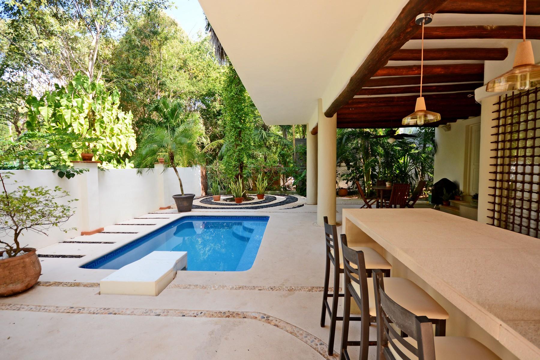 Single Family Home for Sale at SERENITY HOME Retorno Copán Condominio Club Real Mza 22, C 73 Playa Del Carmen, Quintana Roo, 777 Mexico