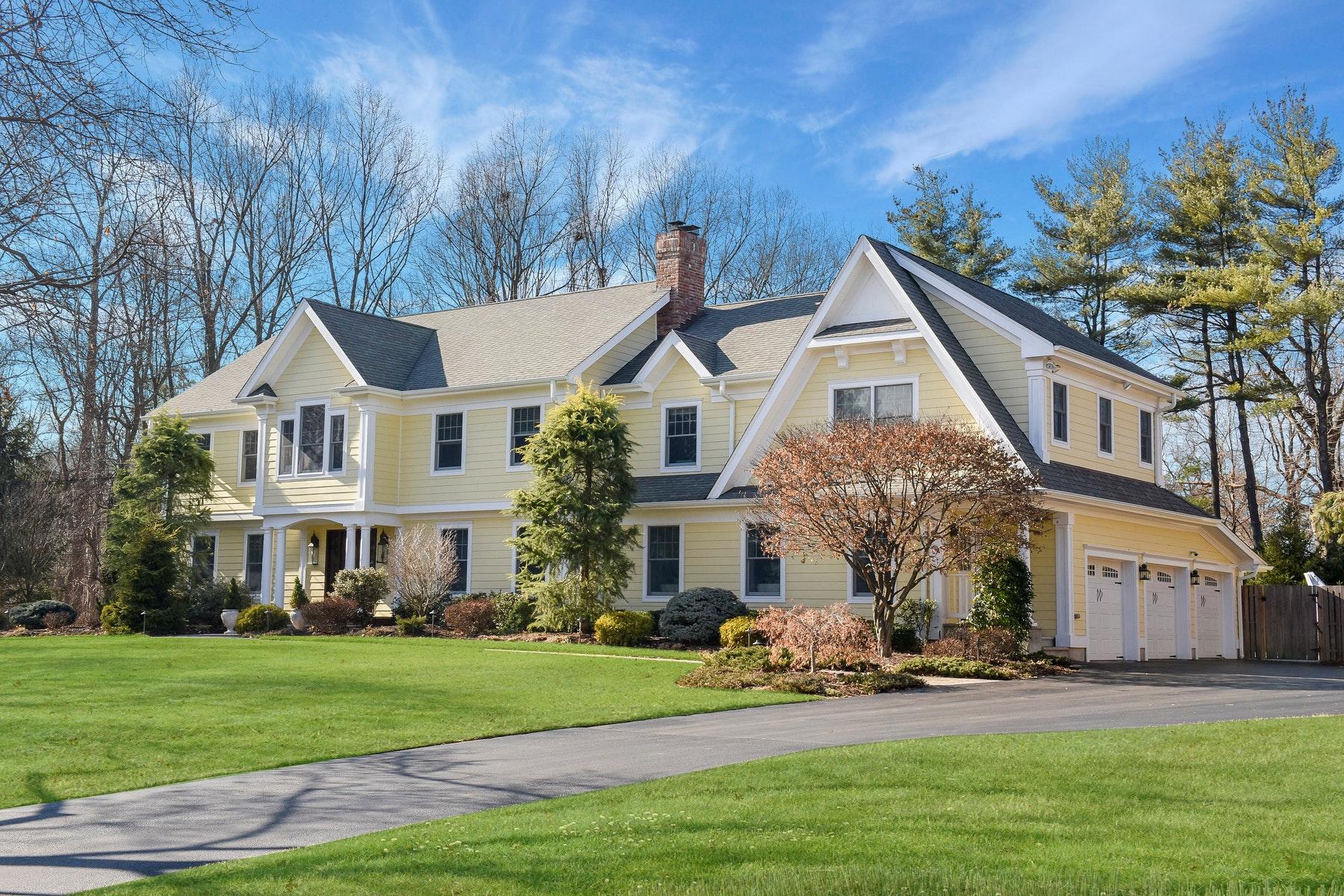 Maison unifamiliale pour l à vendre à Dream Home On Cul-De-Sac 25 Golfview Dr., Upper Saddle River, New Jersey, 07458 États-Unis