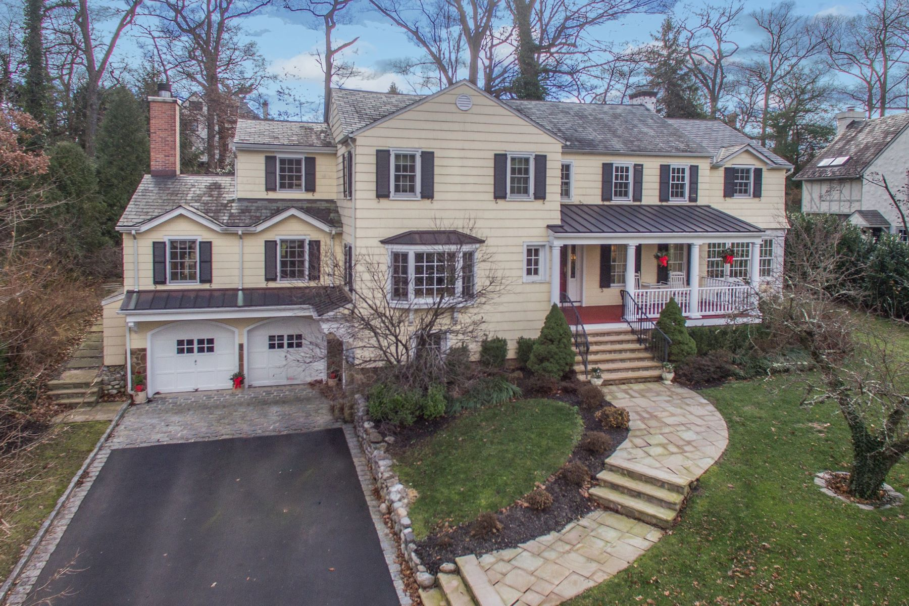 Single Family Home for Sale at Classic Northside Colonial 82 Prospect Hill Avenue, Summit, New Jersey 07901 United States