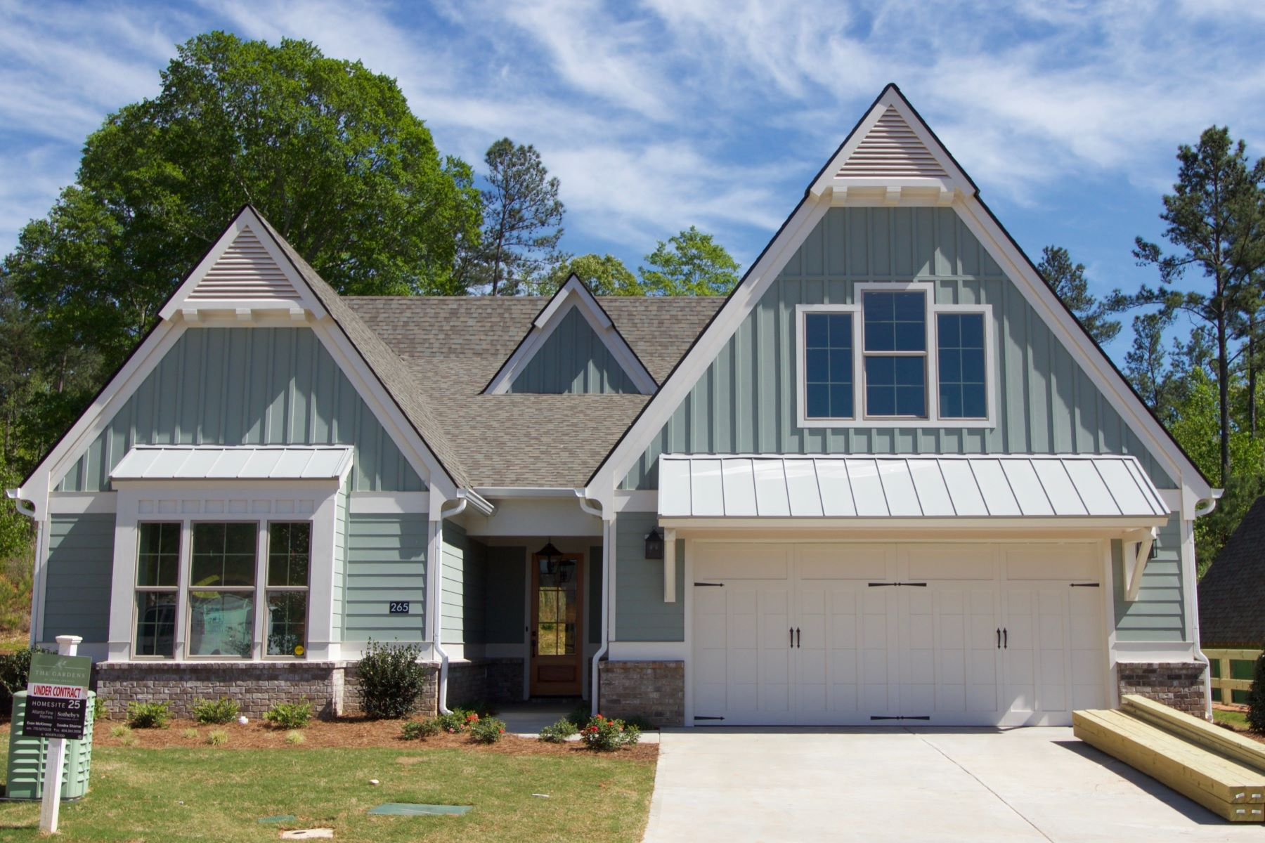 Single Family Homes for Sale at Wisteria Plan- One Level Open-Concept with Vaulted Rear Patio 285 Arbor Garden Circle Newnan, Georgia 30265 United States