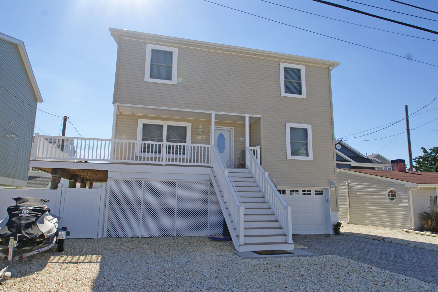 Single Family Homes for Sale at Newly Constructed FEMA Compliant Bayside Home 419 Coolidge Avenue Ortley Beach, New Jersey 08751 United States