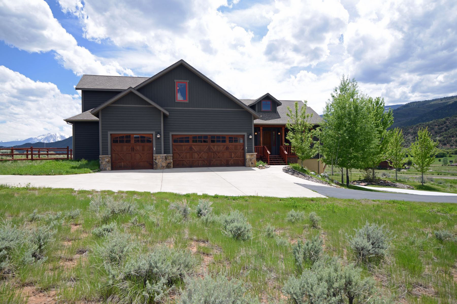 Single Family Home for Sale at Beautiful Large Home in Four Mile Ranch 236 Red Cliff Circle Glenwood Springs, Colorado, 81601 United States