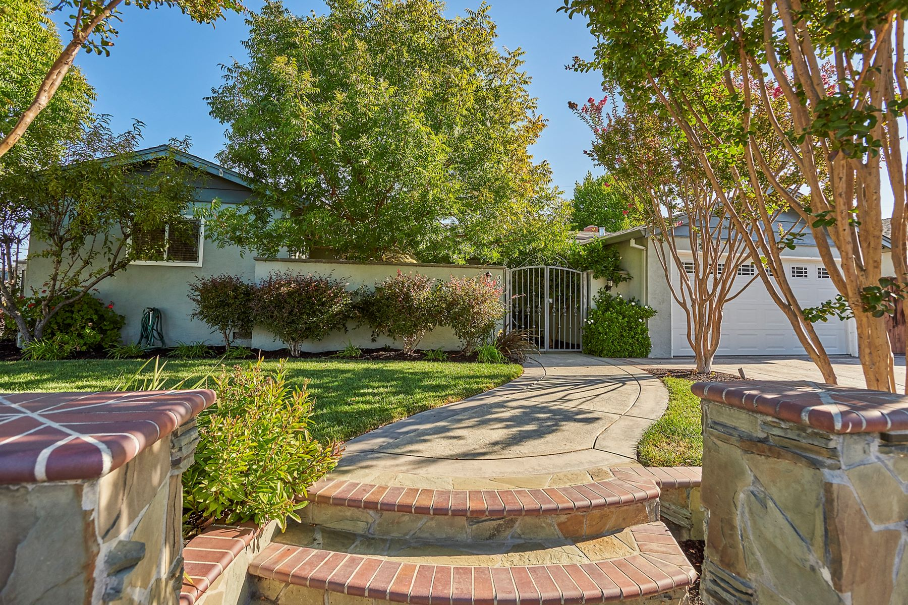 Single Family Homes for Sale at Contemporary Home On Corner Lot 4373 Heartwood Court Concord, California 94521 United States