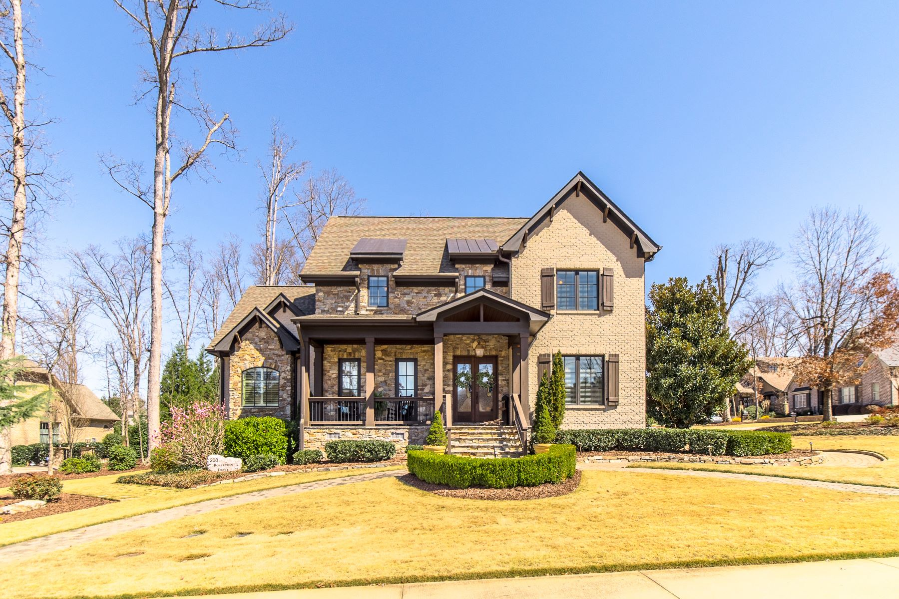 Single Family Homes for Sale at Custom Built Claremont Home 208 Rolleston Drive Greenville, South Carolina 29615 United States