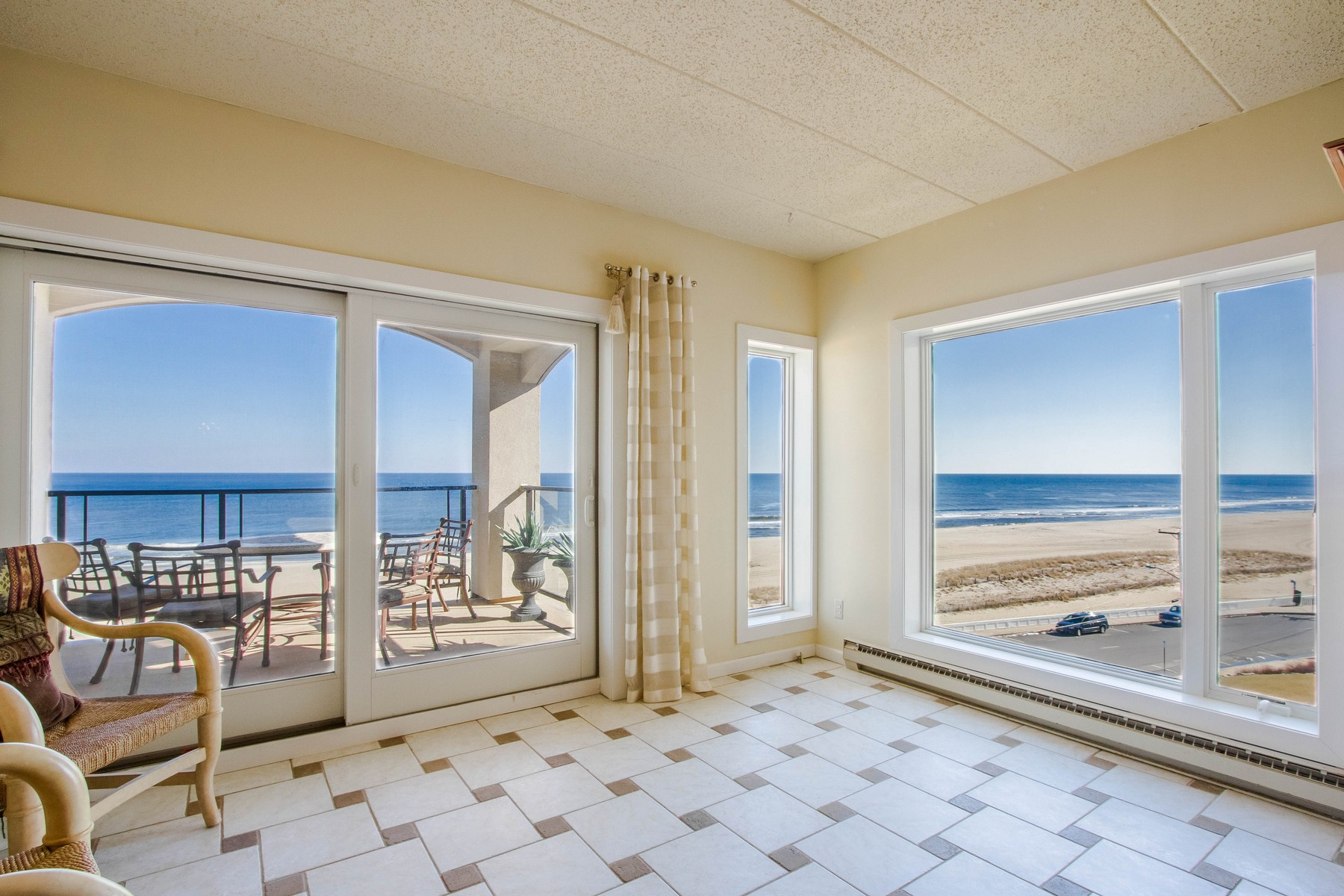 Condominium for Sale at LIVE OCEANFRONT 388 N Ocean Avenue, 5C, Long Branch, New Jersey 07740 United States