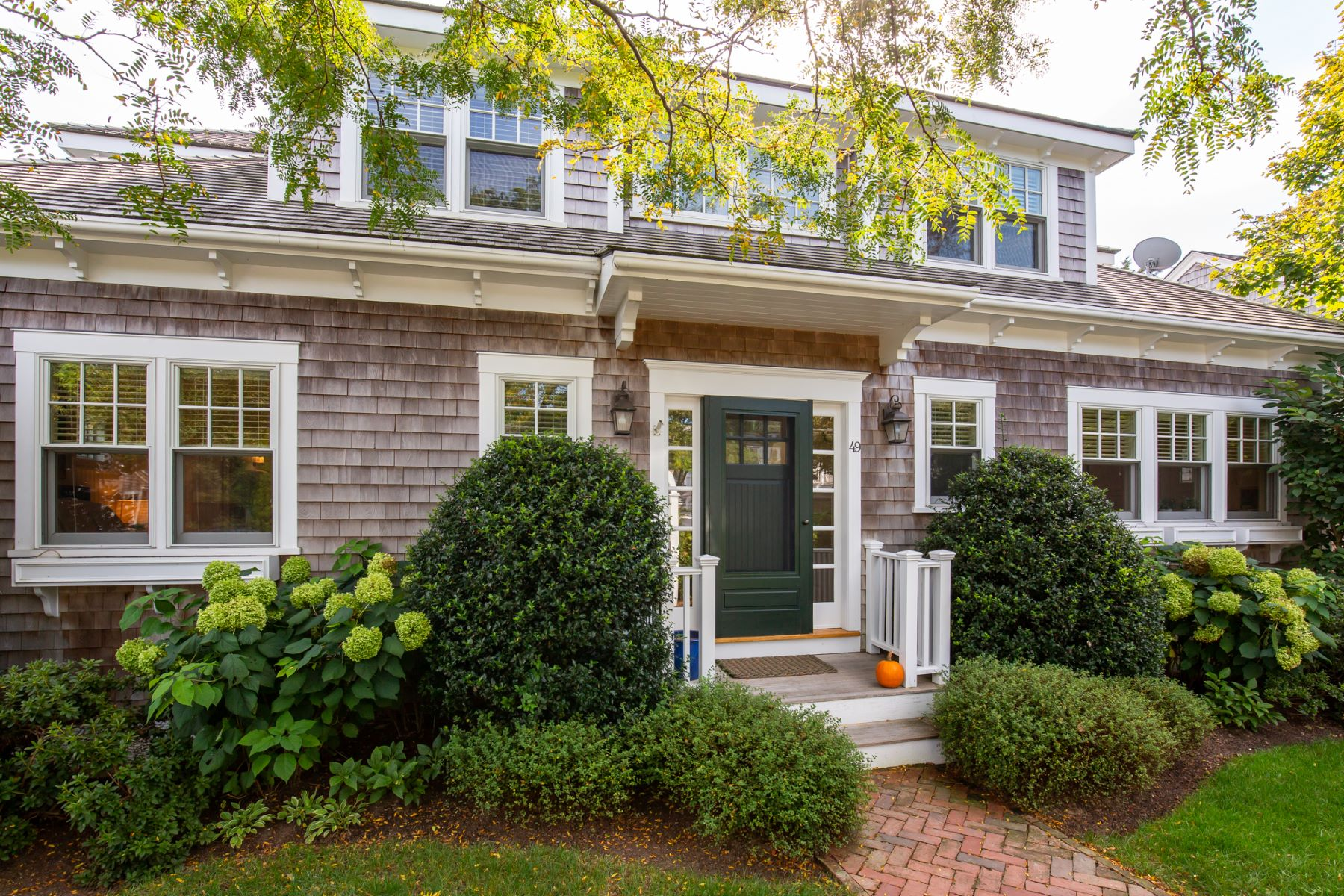 Single Family Homes for Active at Fabulous in-town house and guest house 49 North Summer Street Edgartown, Massachusetts 02539 United States