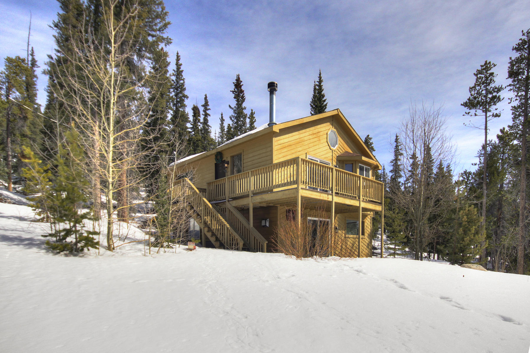 Single Family Homes for Sale at Cabin in the Mountains 3371 S Nugget Road Fairplay, Colorado 80440 United States