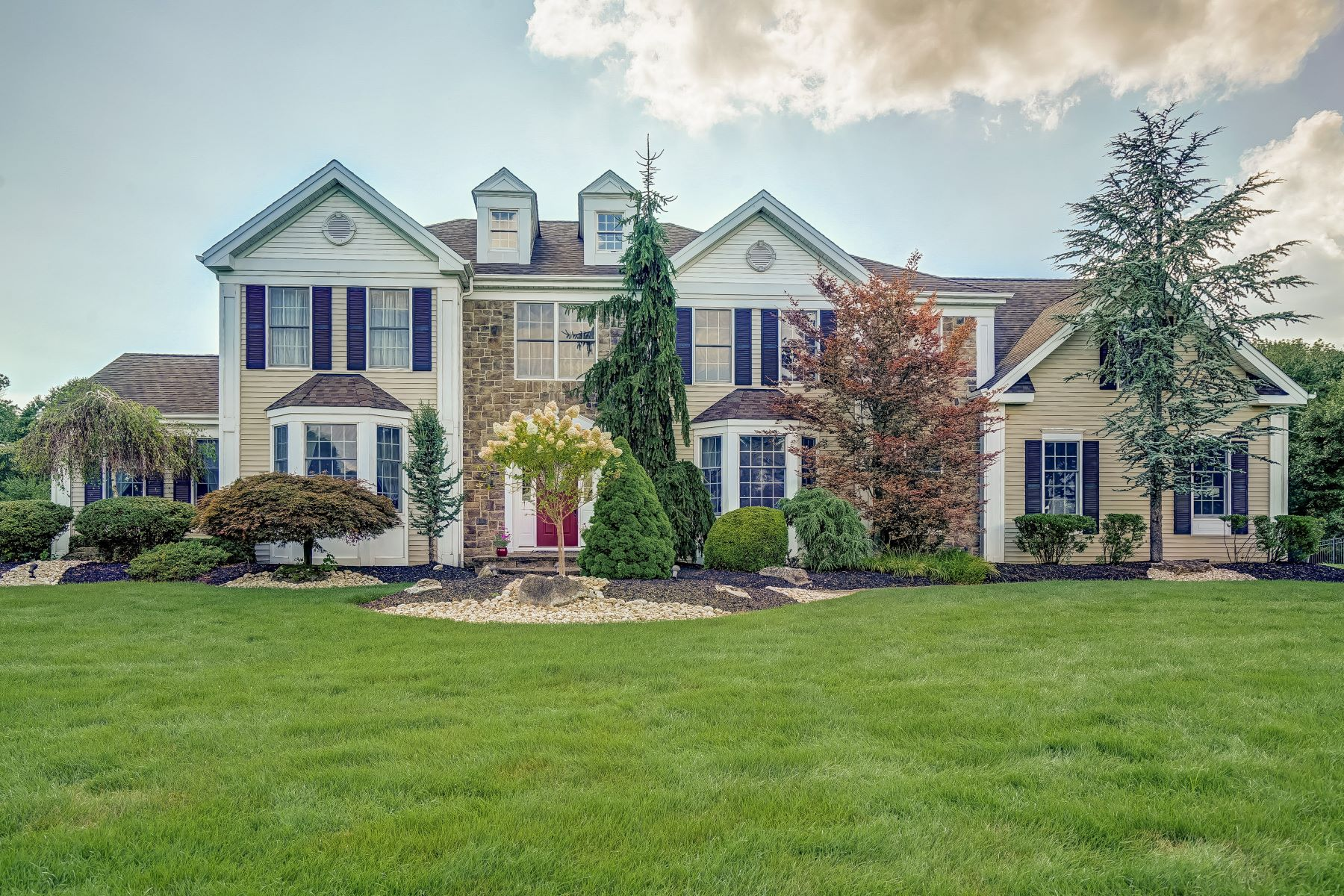 Single Family Home for Sale at Stately Colonial 1035 Chambers Court Bridgewater, New Jersey 08807 United States