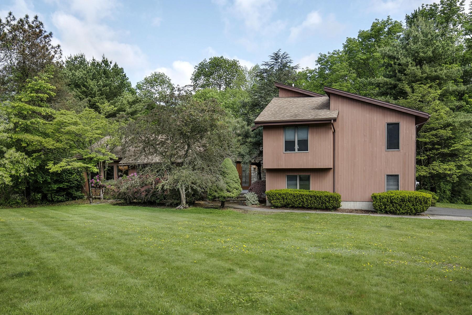 獨棟家庭住宅 為 出售 在 Private Contemporary 17 Chesterbrook Road Chester, 新澤西州 07930 美國