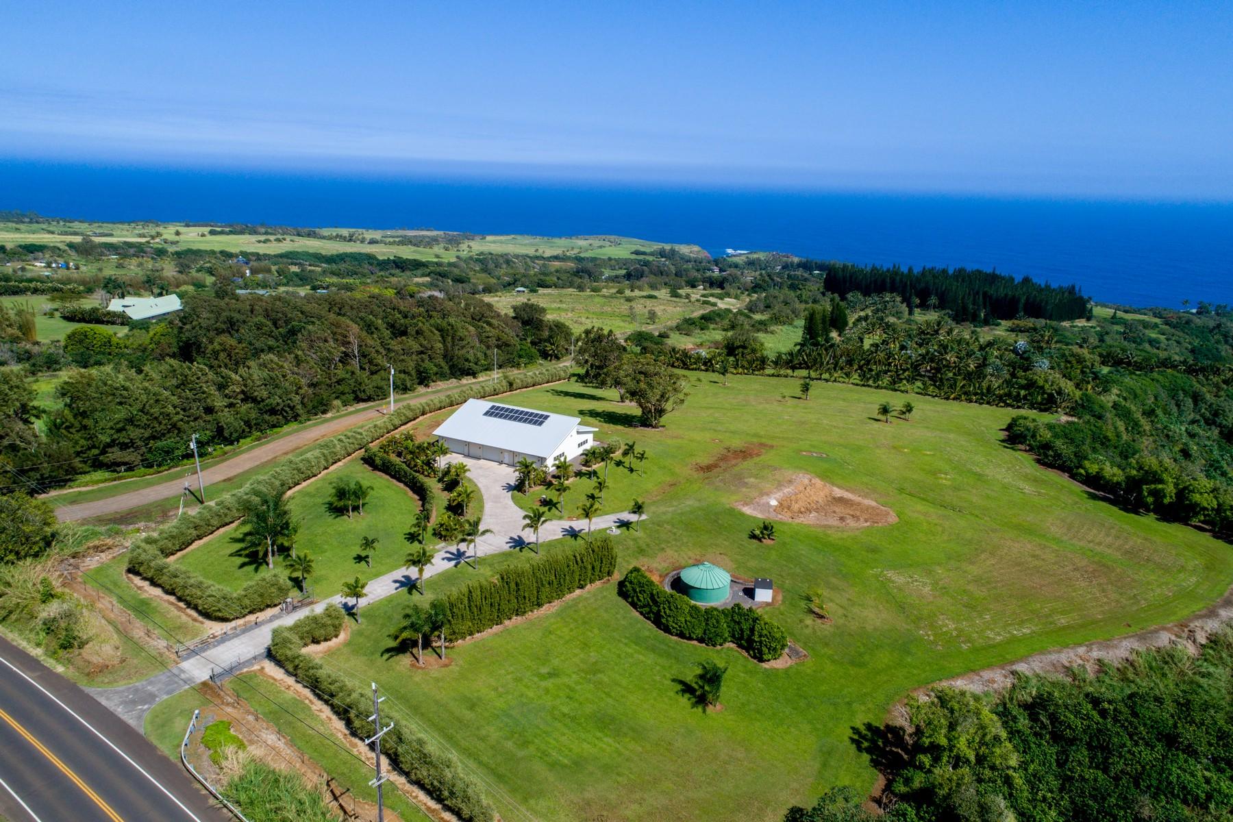 토지 용 매매 에 Stunning Ocean Views on 9+ Acres in Haiku With Endless Possibilities 4605 Hana Highway, Haiku, 하와이 96708 미국
