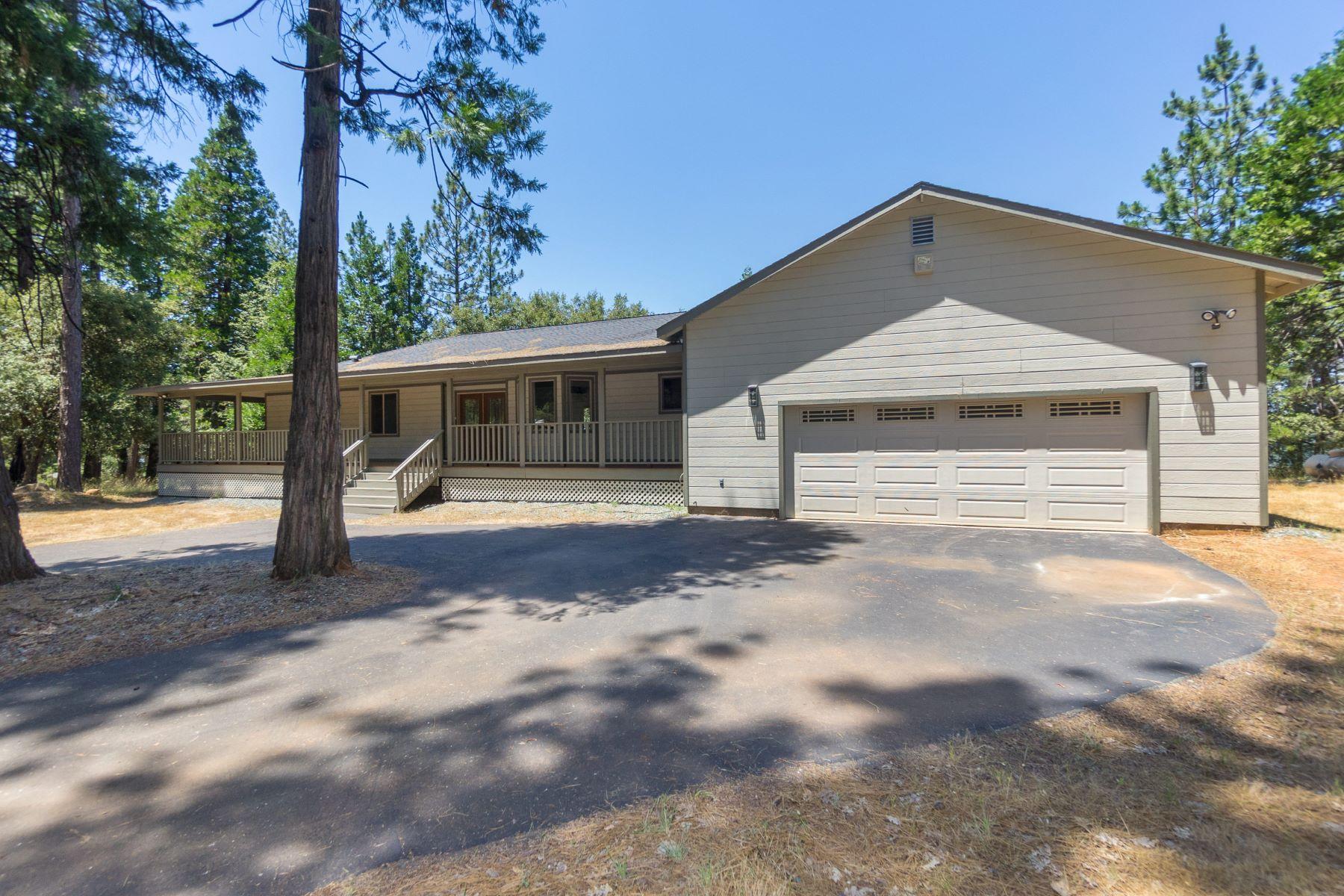Single Family Home for Sale at 24201 Shake Ridge Road Volcano, California 95689 United States