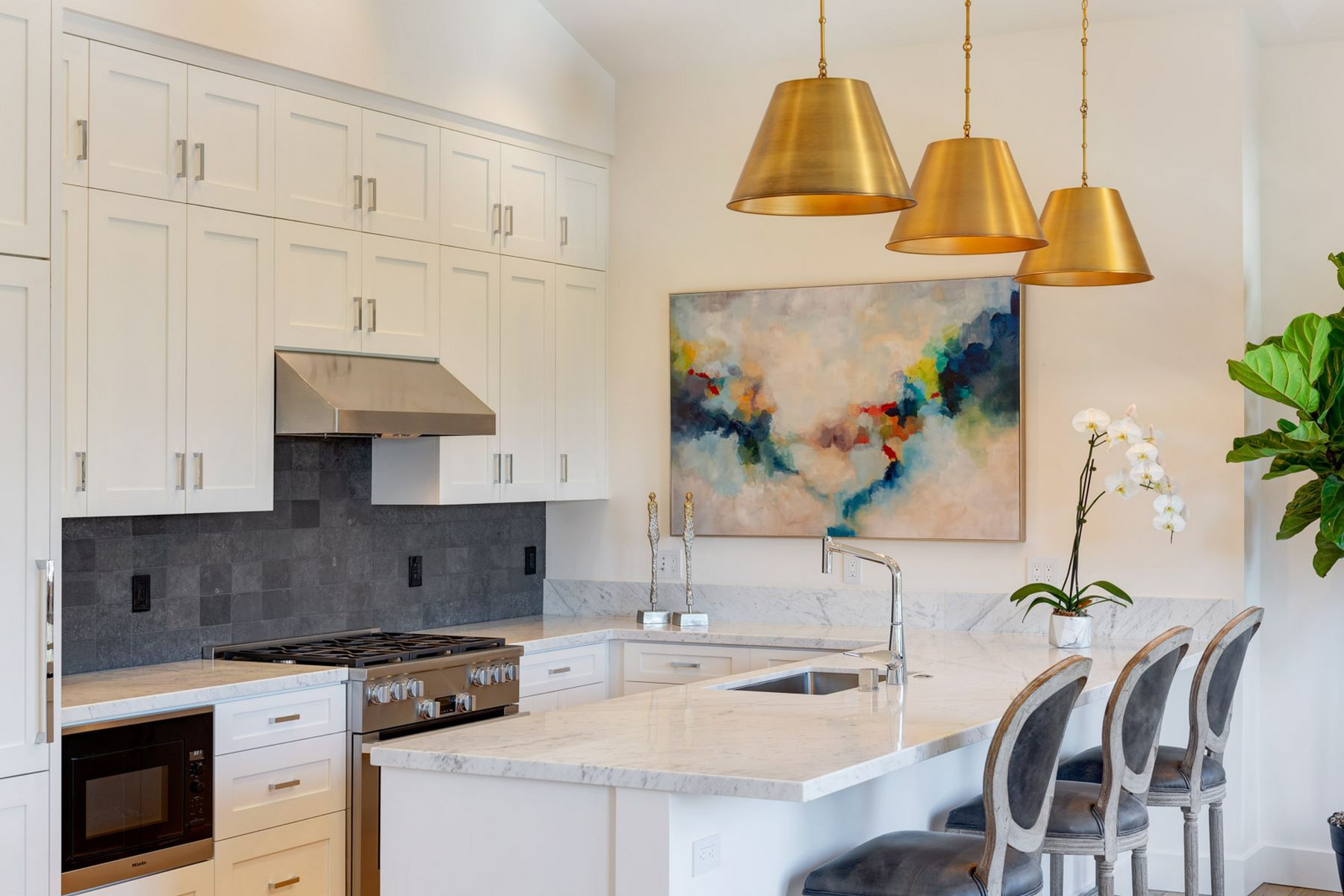 townhouses pour l Vente à Brand New Modern Contemporary Town Home - Ideal Location 39 Crescent Avenue, Sausalito, Californie 94965 États-Unis