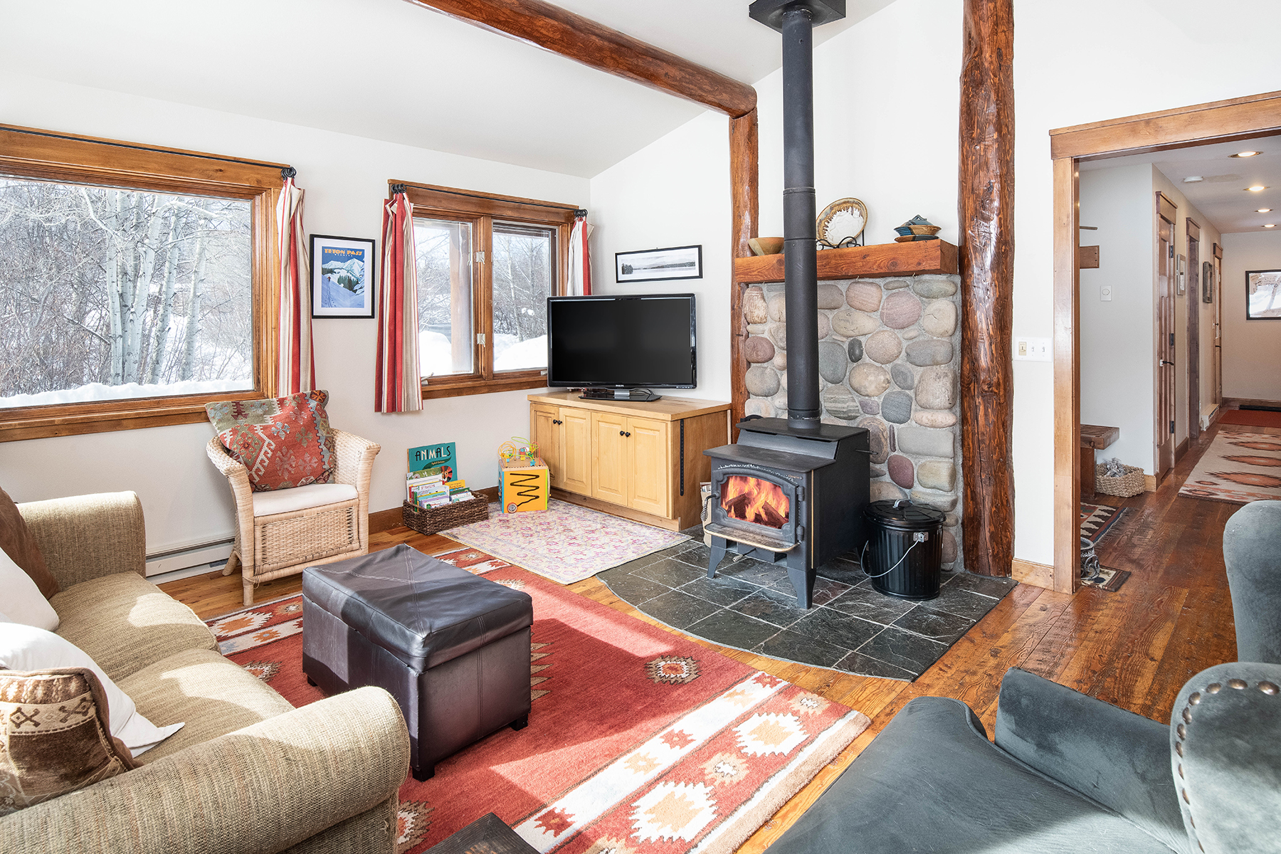 Single Family Home for Active at Beautiful Teton Pass Property 1320 T-C Drive Victor, Idaho 83455 United States