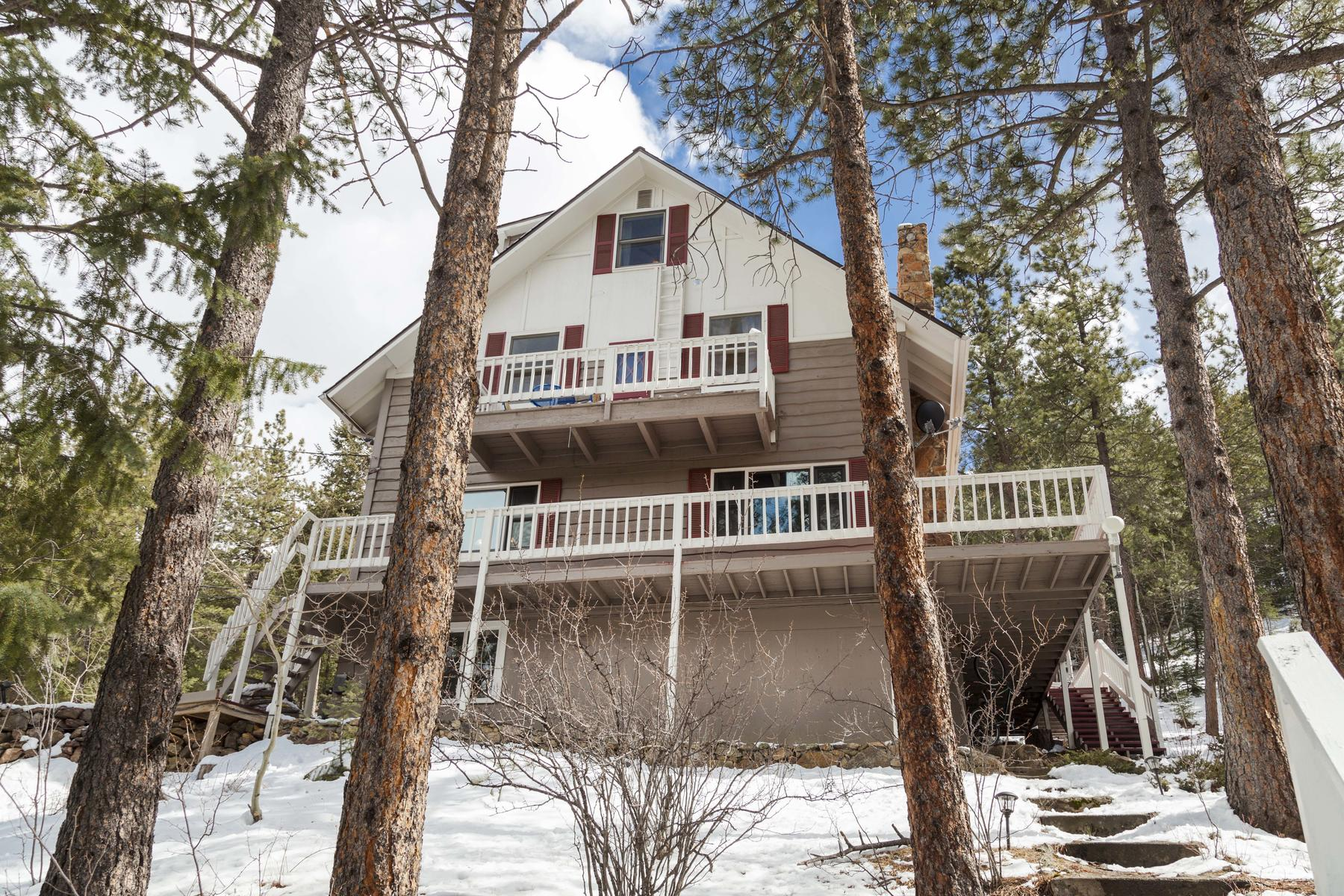 Single Family Home for Active at Stunning Mountain Home 706 Skyline Drive Idaho Springs, Colorado 80452 United States