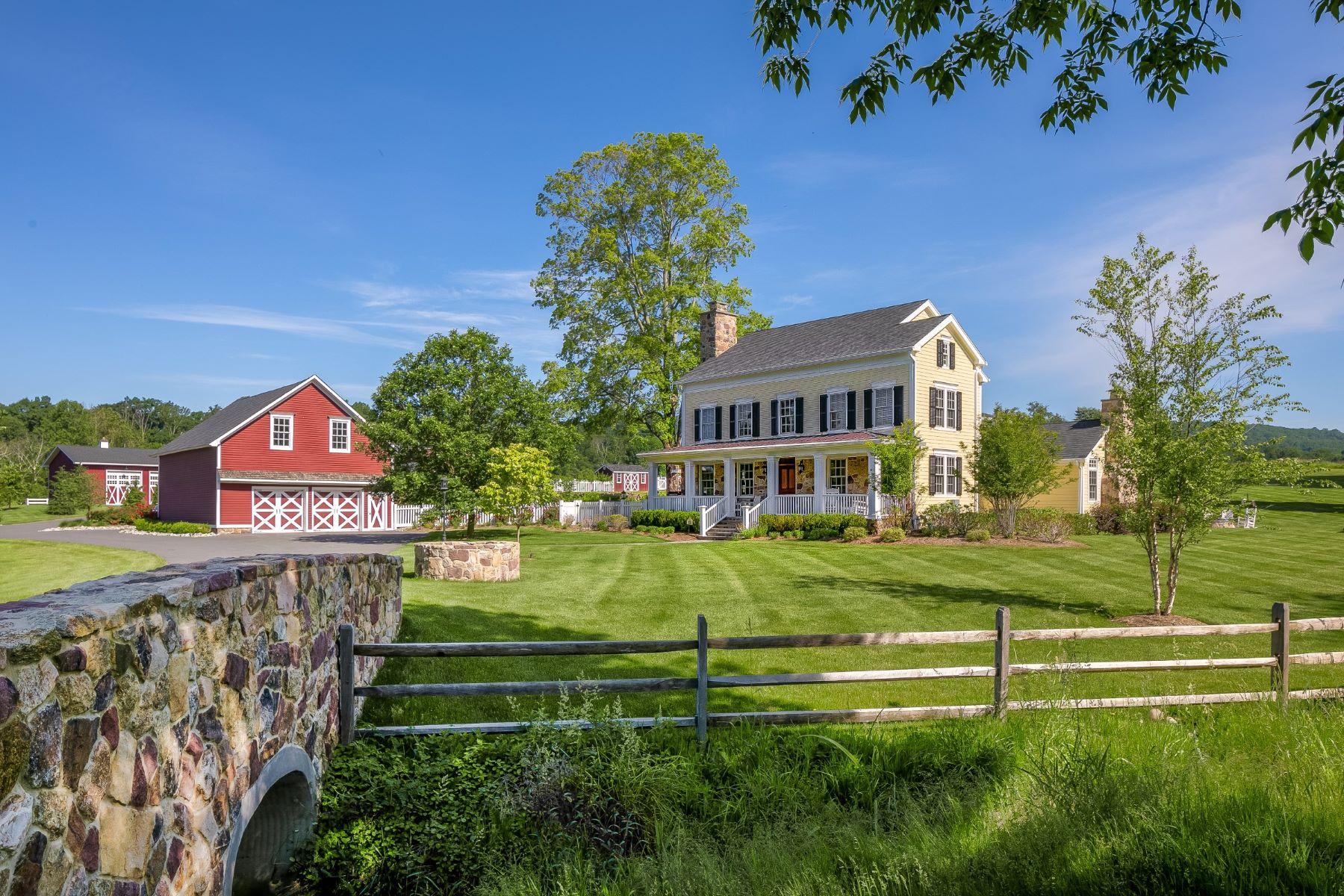 Nhà ở một gia đình vì Bán tại Konkus Farm 55 Mendham Road, Chester, New Jersey 07930 Hoa KỳTrong/Xung quanh: Chester Township