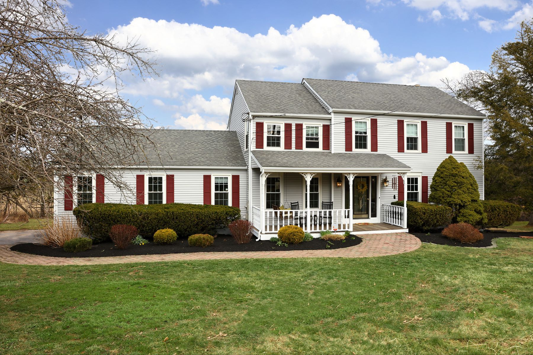 Single Family Home for Sale at Bucolic Views Fill Pretty Ringoes Colonial - East Amwell Township 23 Welisewitz Road Ringoes, New Jersey 08551 United States