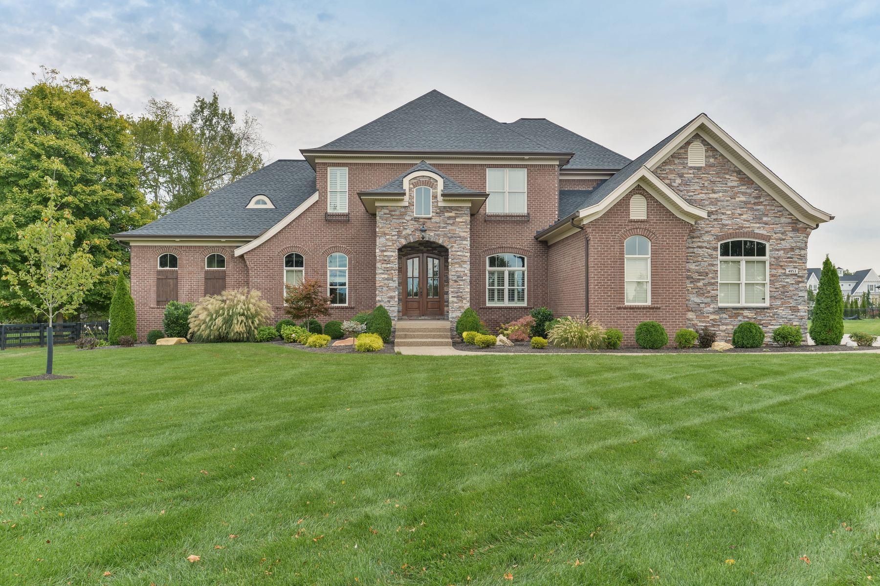 single family homes por un Venta en 4953 Spring Farm Road Prospect, Kentucky 40059 Estados Unidos
