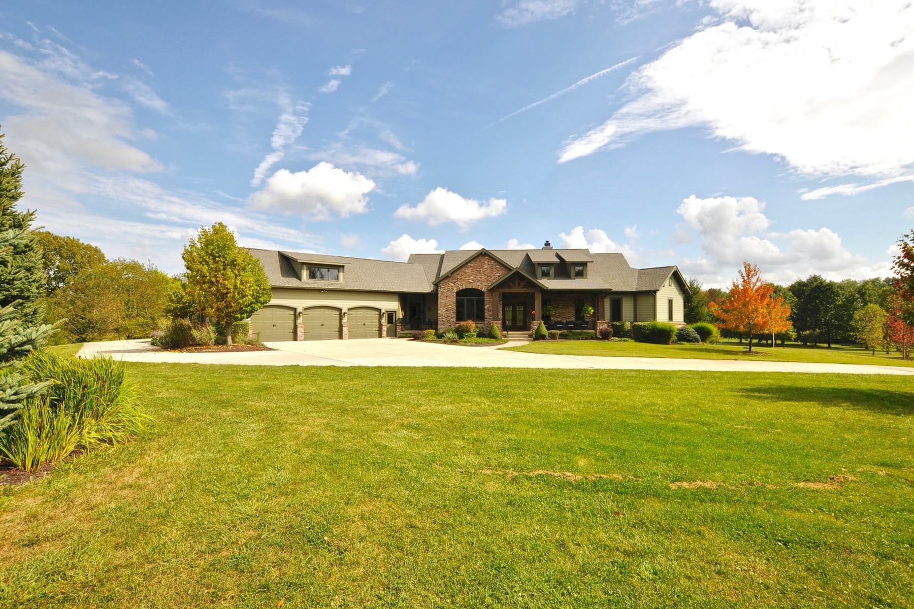 Single Family Home for Sale at Stunning 11 Acre Estate 16311 Joliet Road Westfield, Indiana 46074 United States