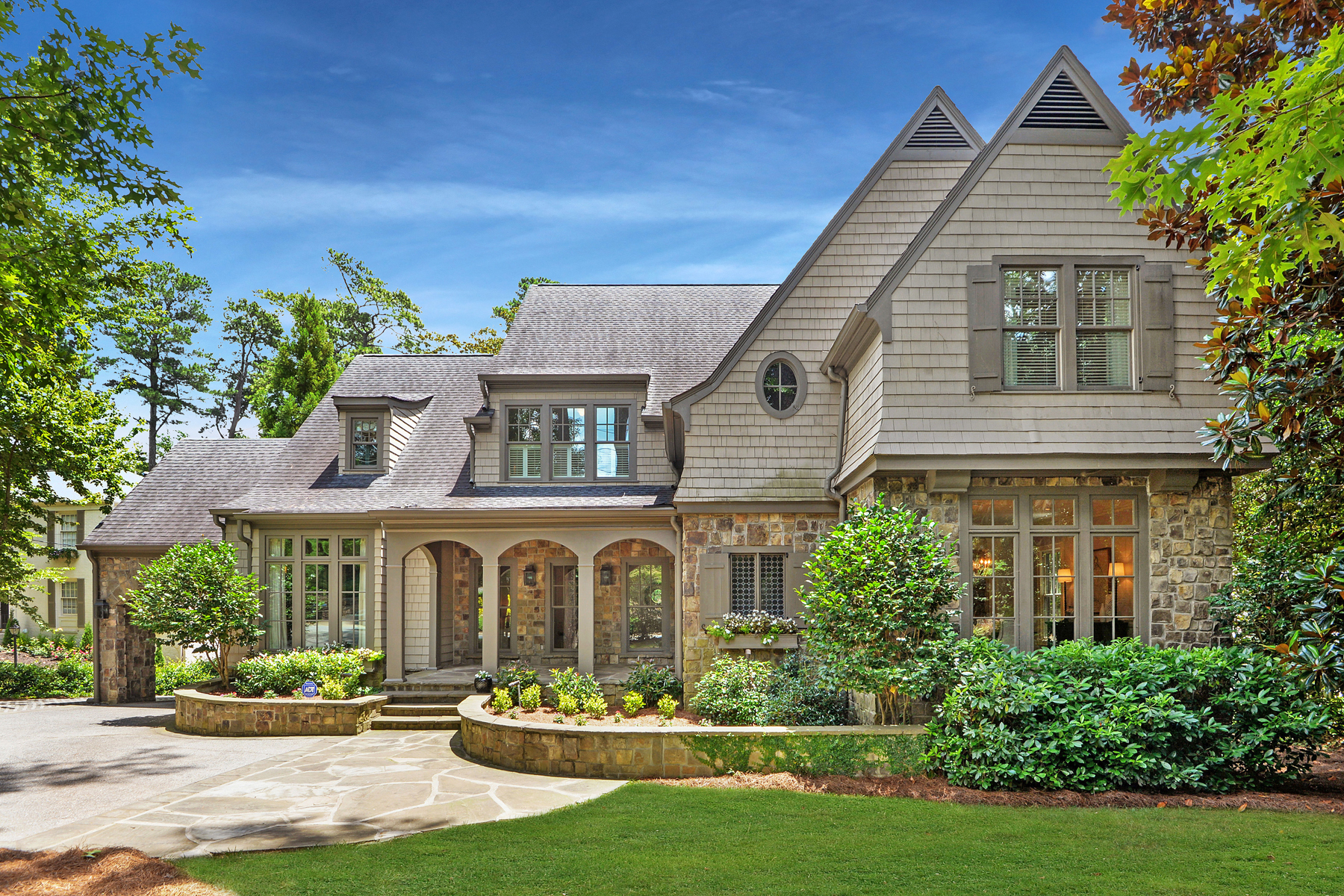 Property for Sale at Stunning Dutch-Colonial Style Home in Buckhead 3303 Habersham Road NW Atlanta, Georgia 30305 United States