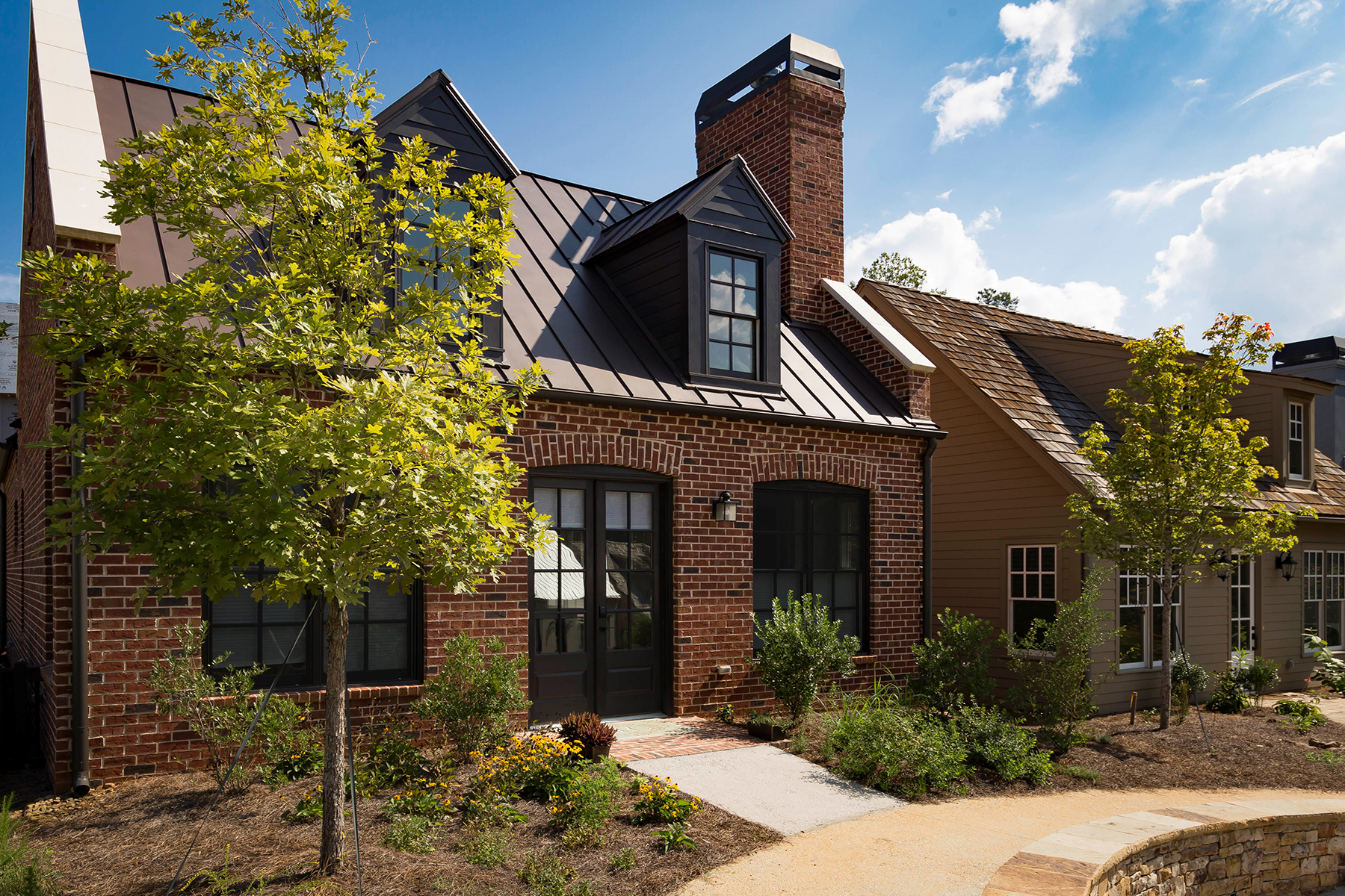 Single Family Homes for Active at Charming One-Level Cottage In Mado Section Of Serenbe 337 Anders North Chattahoochee Hills, Georgia 30268 United States