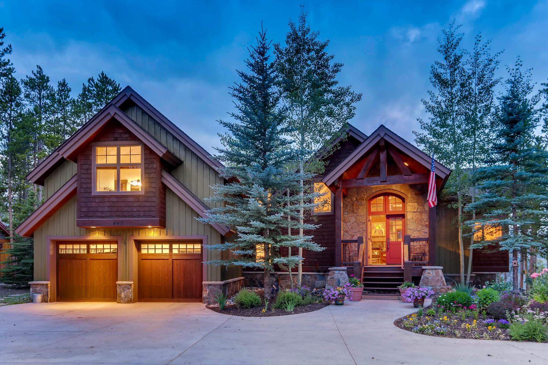 Single Family Home for Active at 447 Silver Circle 447 Silver Circle Breckenridge, Colorado 80424 United States