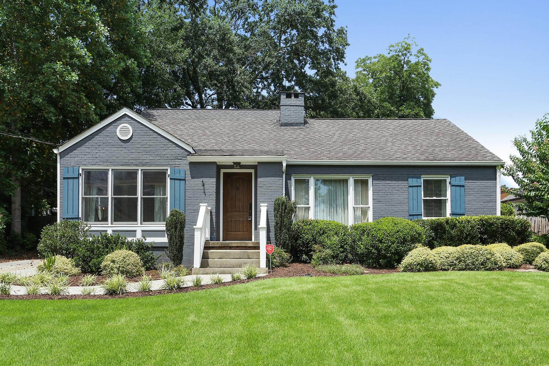 Single Family Home for Sale at Beautiful Home in North Buckhead 212 Midvale Pl Atlanta, Georgia 30324 United States