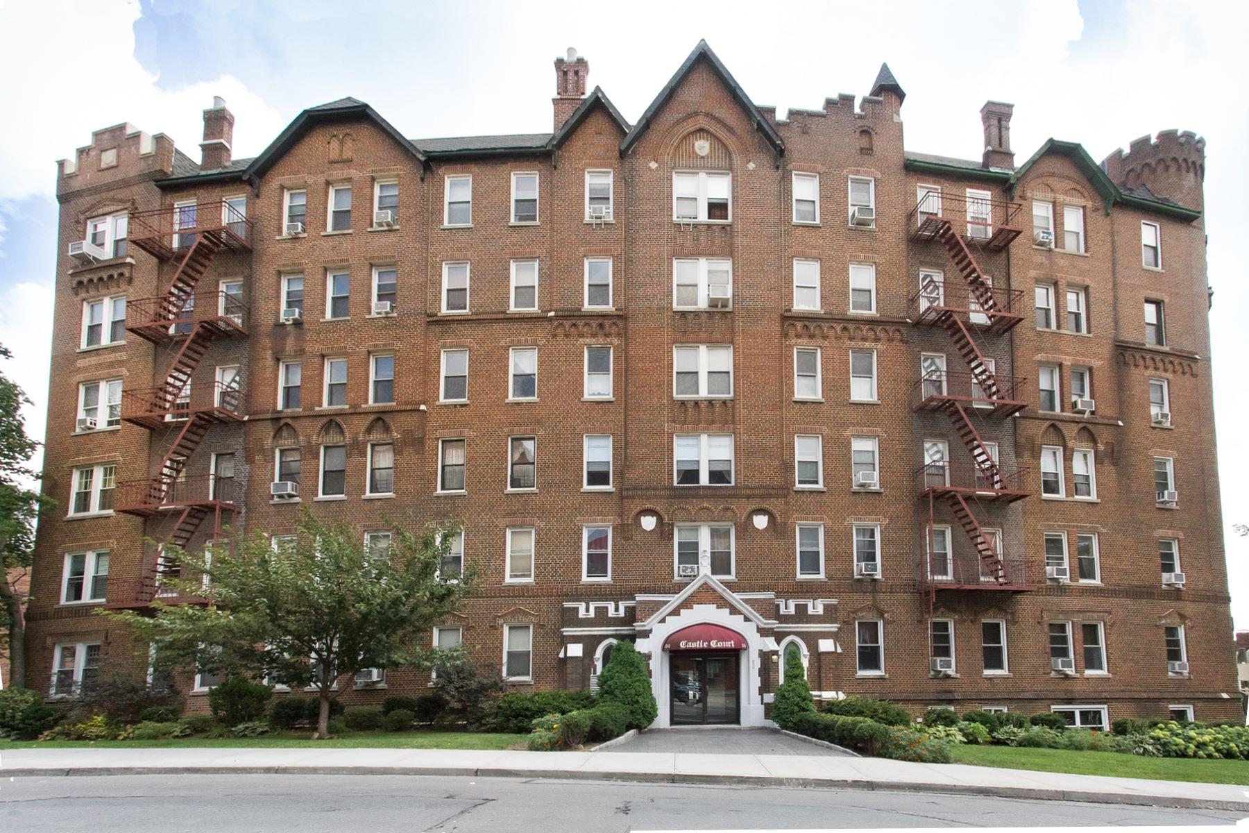 """合作公寓 为 销售 在 """"CASTLE ON A HILL"""" 83-55 Lefferts Blvd. Apt. 5C 邱园, 纽约州 11415 美国"""