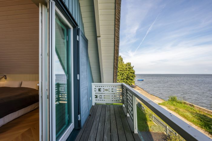 Luxurious House on the Coast of the Curonian Lagoon in Neringa