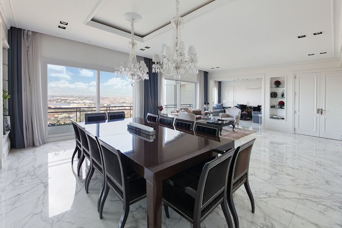 Refined Residence in Chateau Building - Puerto Madero
