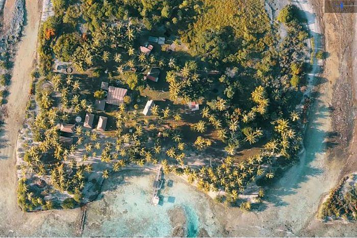 Marakorako private Island in Manihi