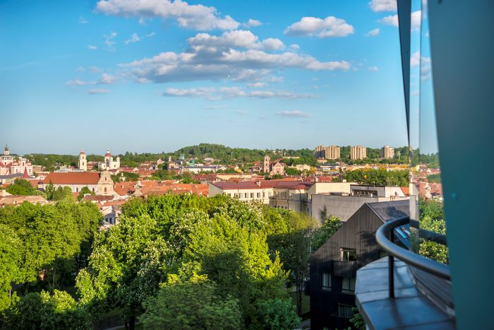 Apartment In Teatro St With Exceptional View To The City