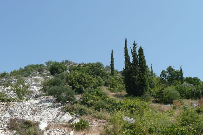 Building land with a project near Dubrovnik