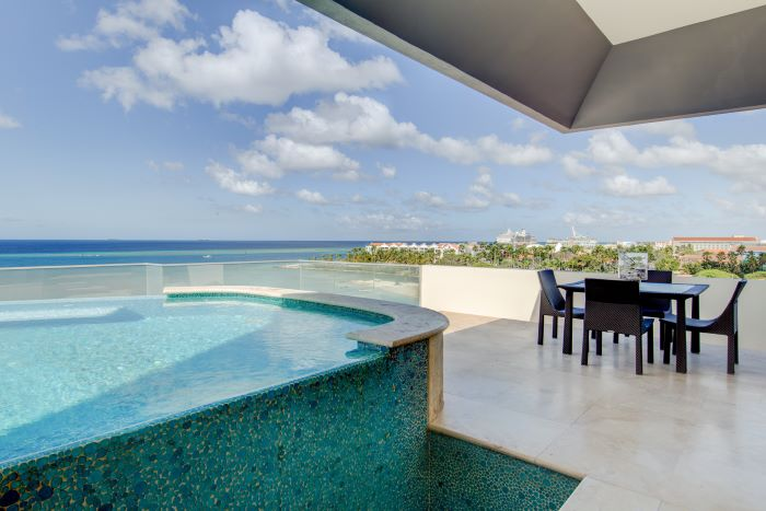 The Coral Pyramid Penthouse in Aruba