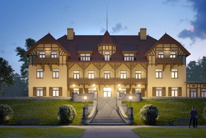 Impressive Villa In Smiltyne
