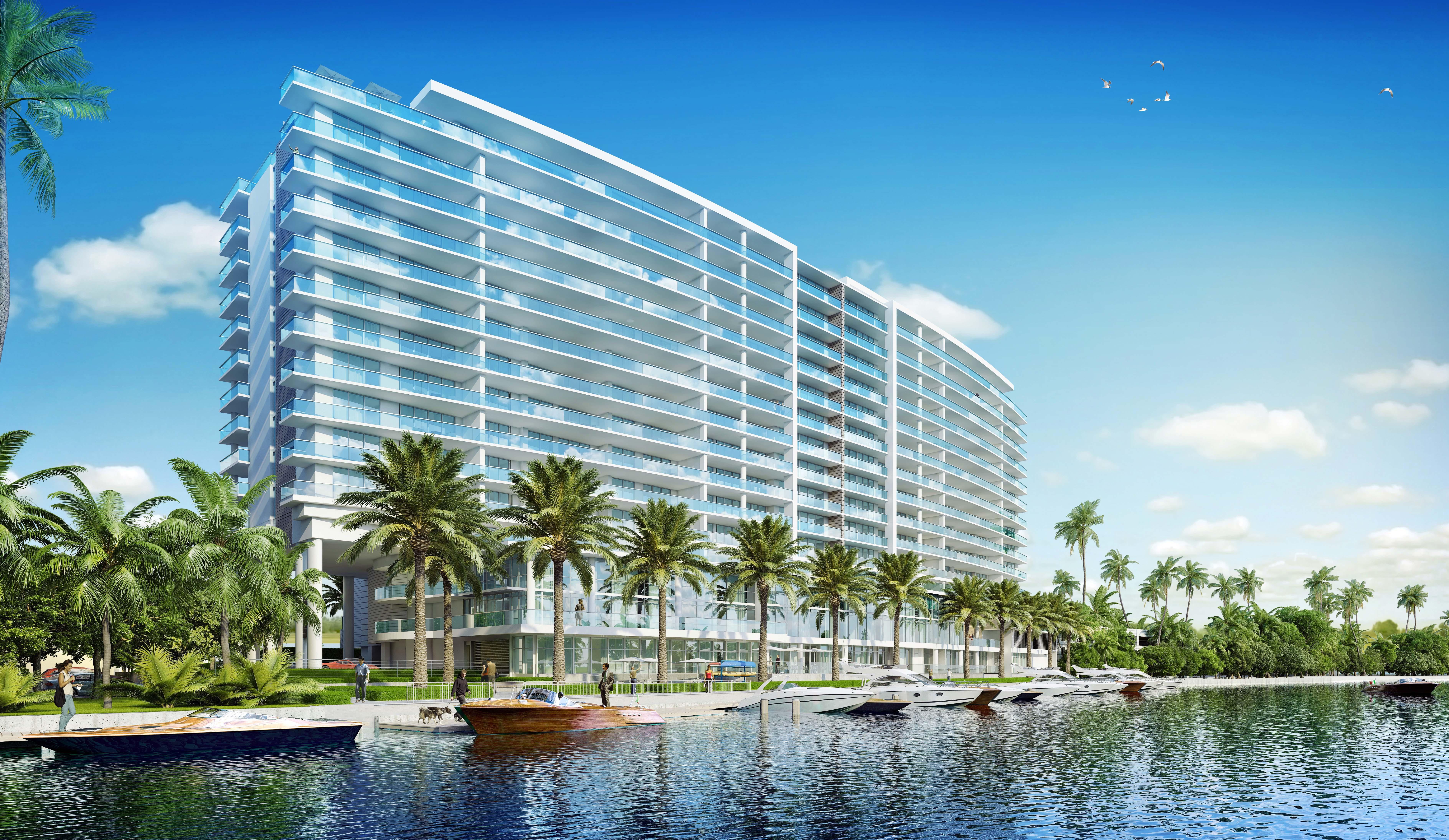 Appartement pour l Vente à 1180 N Federal Hwy #905 1180 N Federal Hwy 905 Fort Lauderdale, Florida, 33304 États-Unis